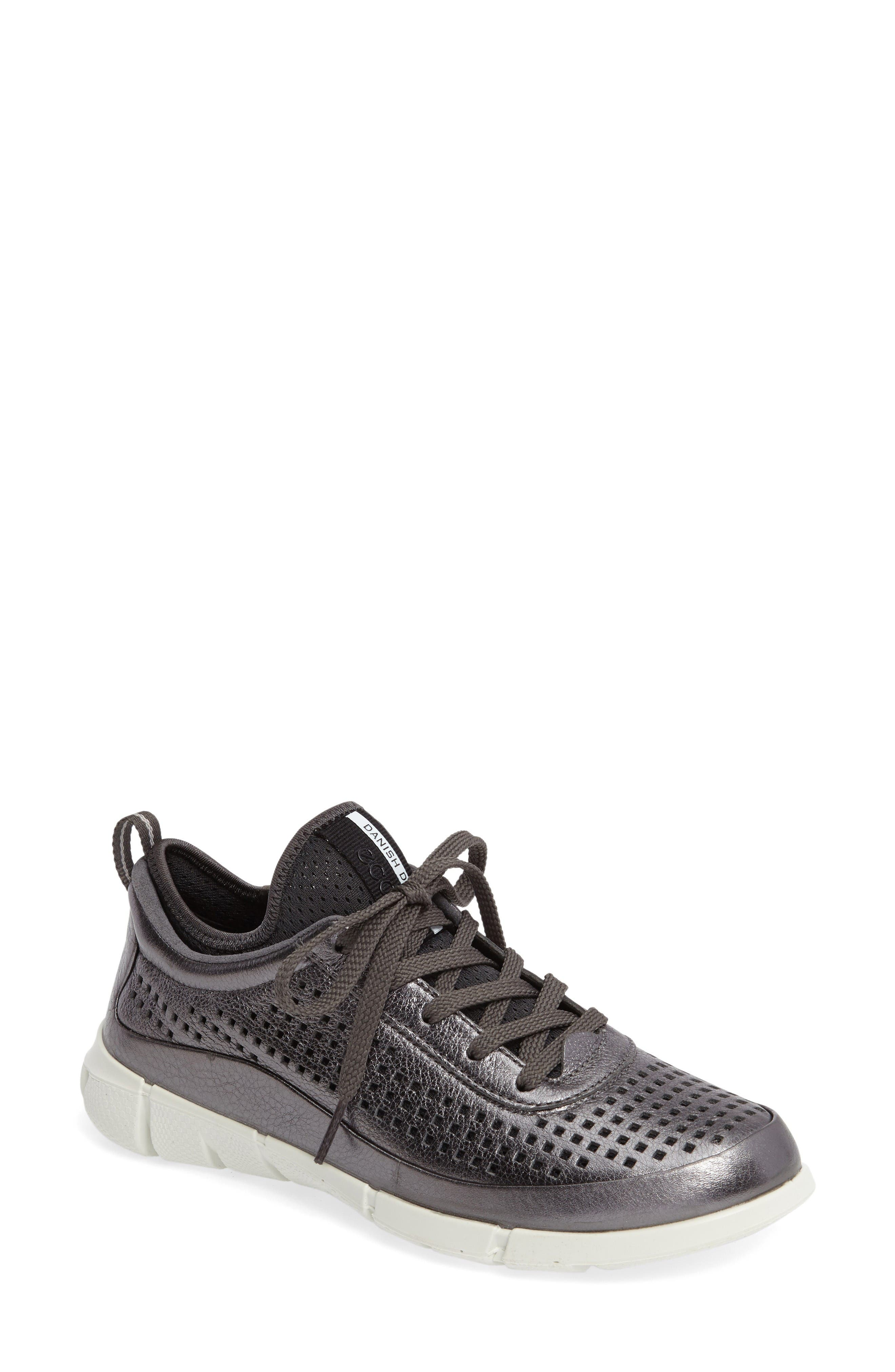 Alternate Image 1 Selected - ECCO 'Intrinsic' Leather Sneaker (Women)