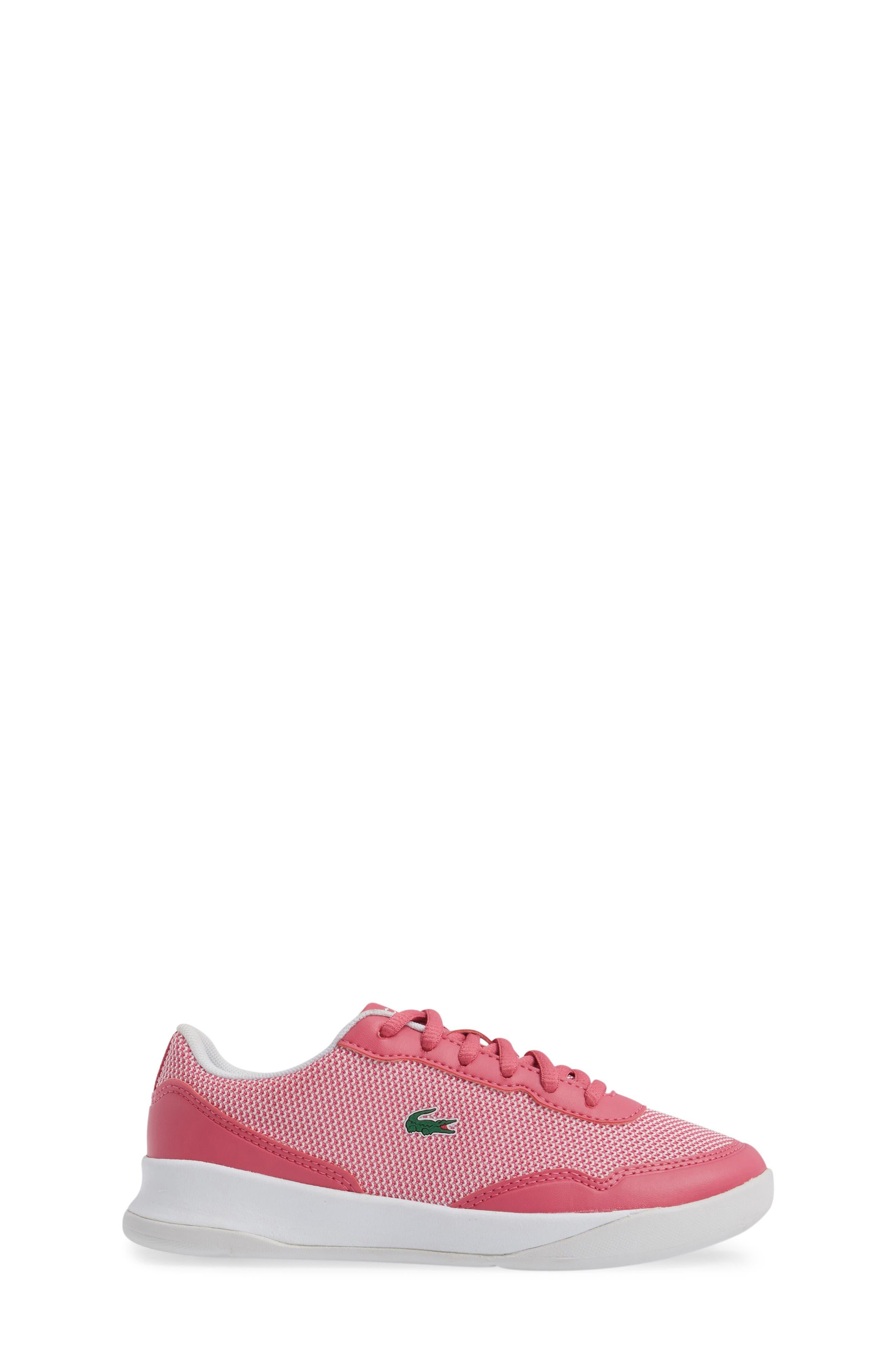LT Spirit Woven Sneaker,                             Alternate thumbnail 3, color,                             Pink/ White