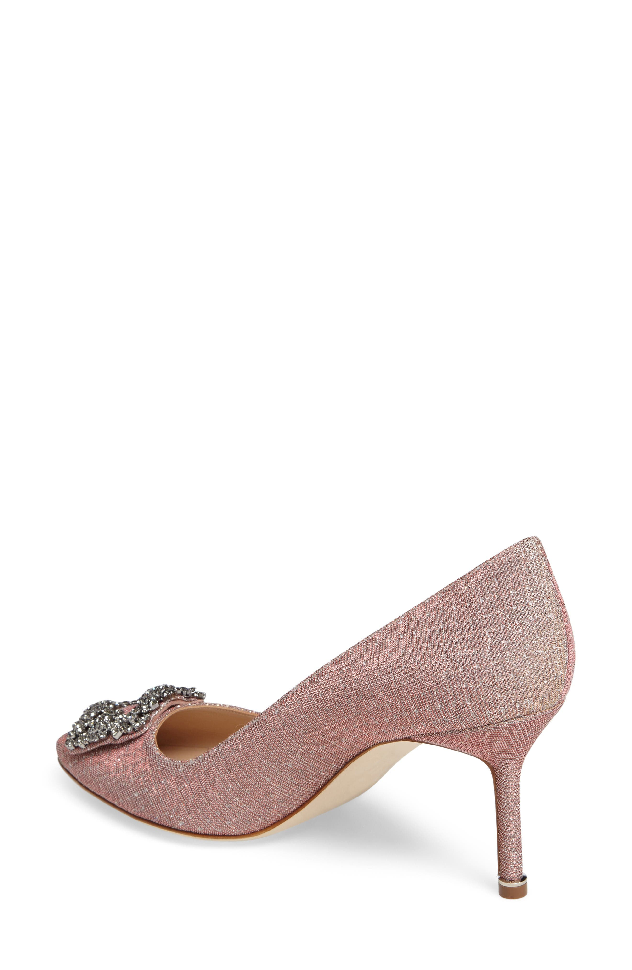 Hangisi Pump,                             Alternate thumbnail 2, color,                             Champagne Fabric