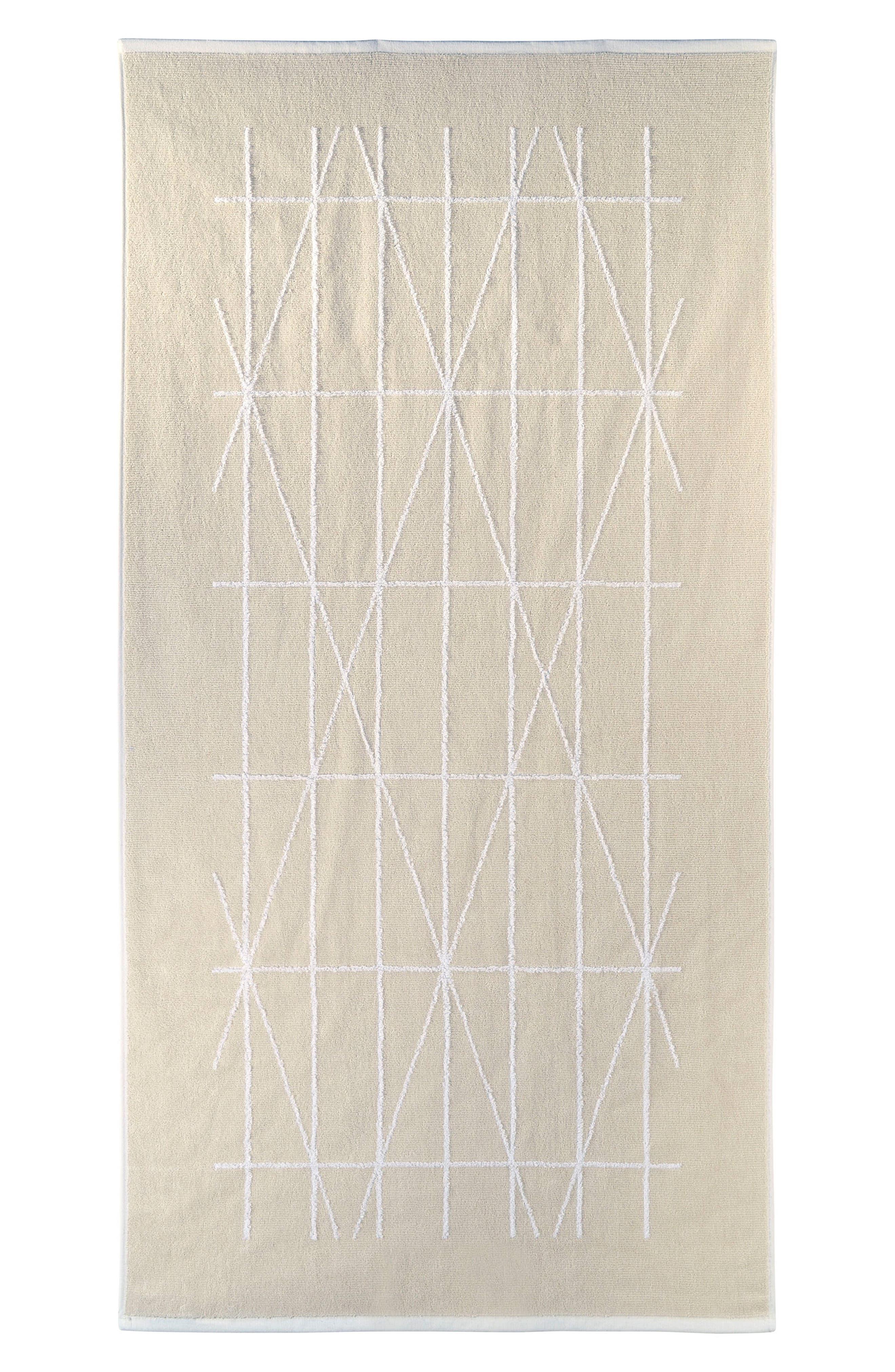 DKNY Geometrix Bath Towel