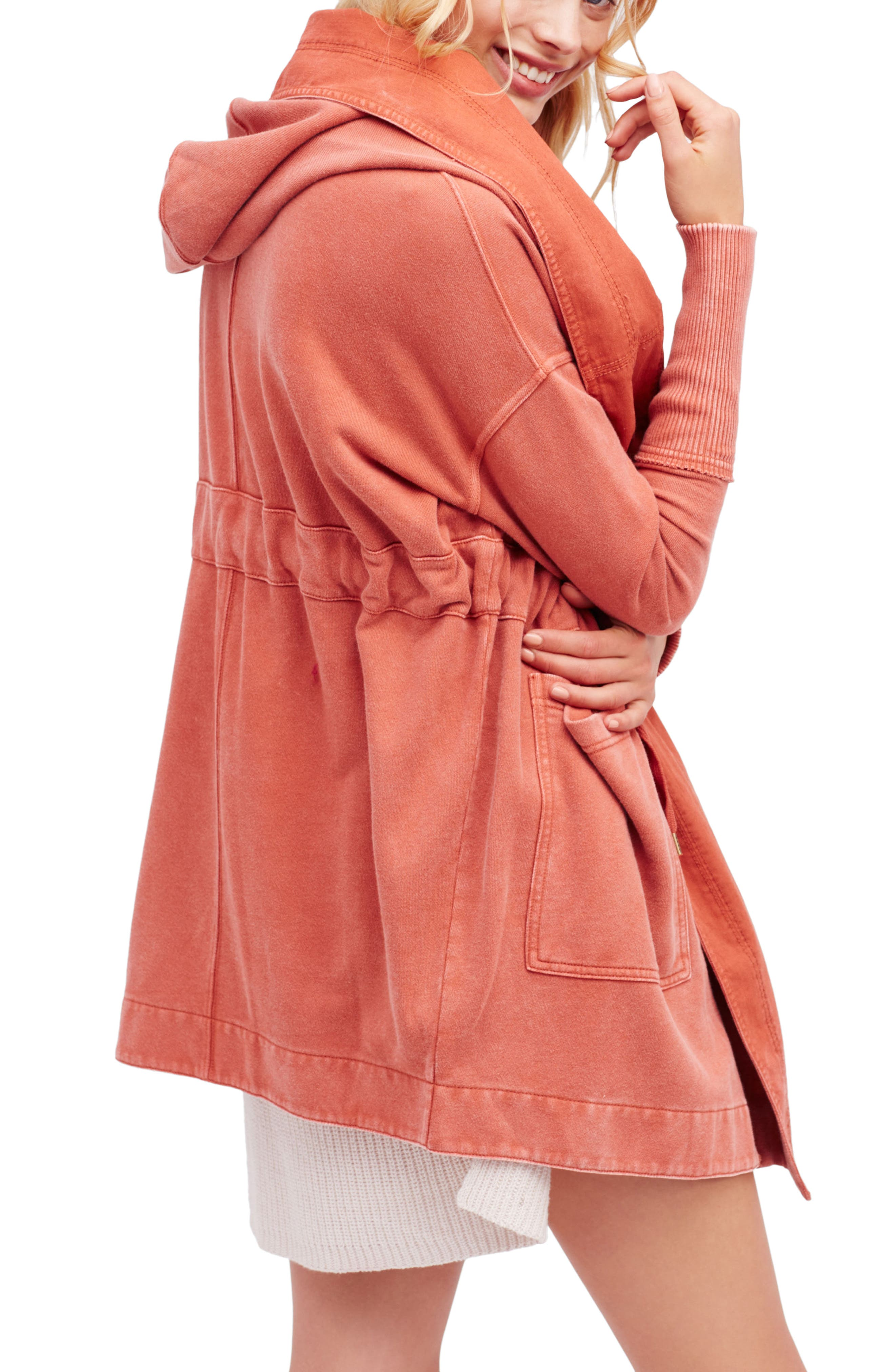 Alternate Image 1 Selected - Free People Brentwood Cotton Cardigan