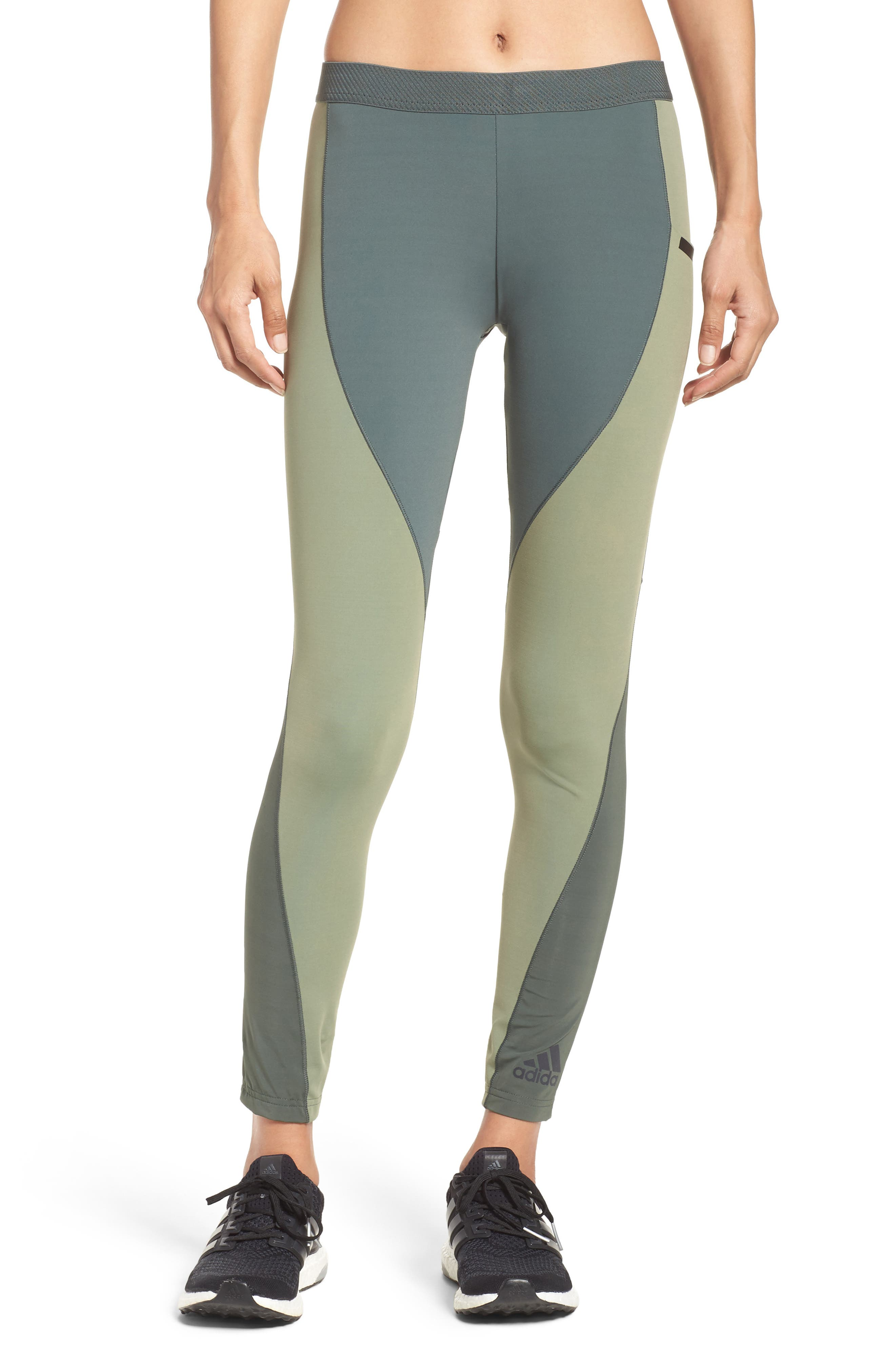 Climachill<sup>®</sup> Training Tights,                             Main thumbnail 1, color,                             Utility Ivy F16/ Green