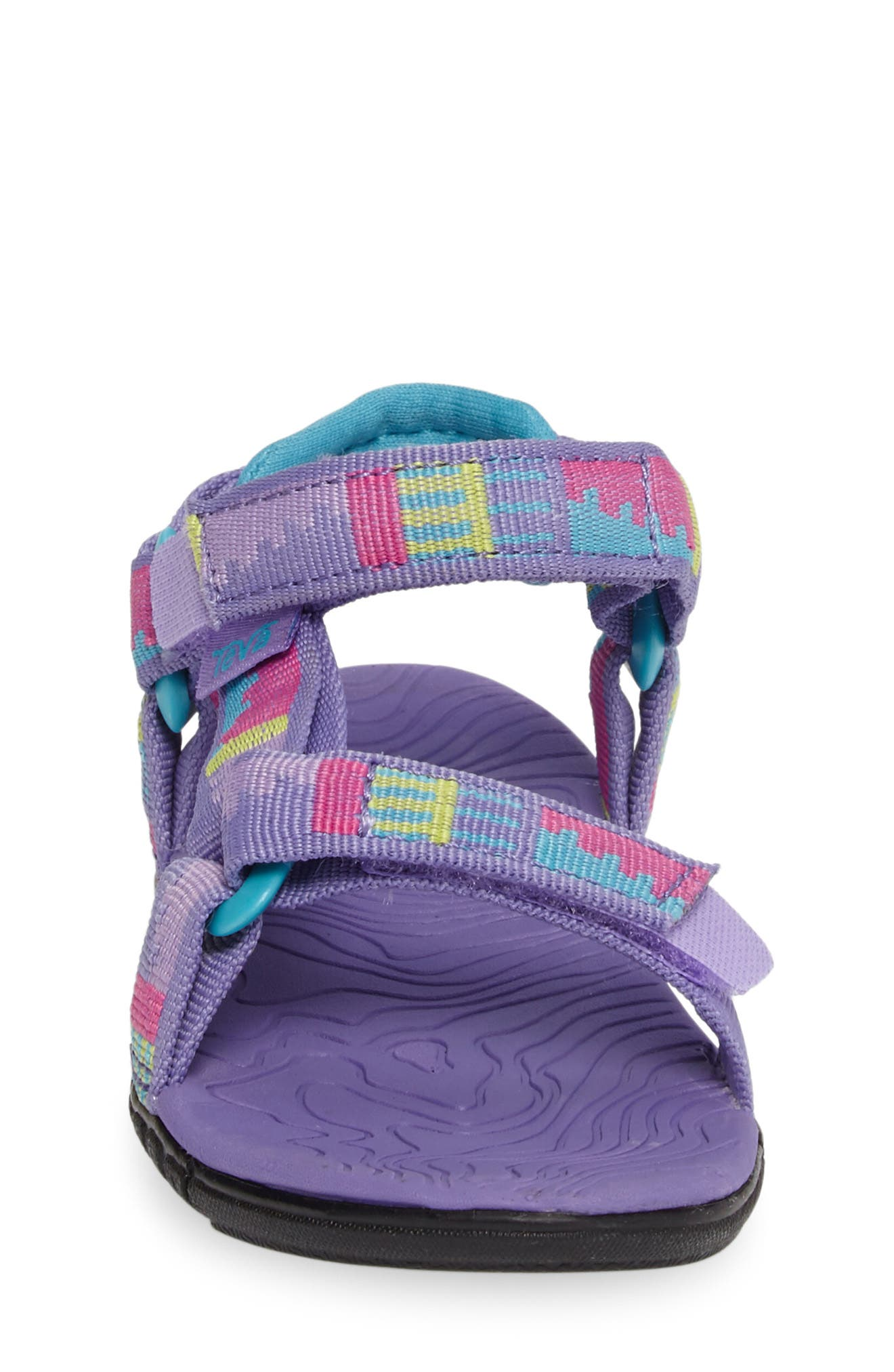 'Hurricane 3' Sport Sandal,                             Alternate thumbnail 4, color,                             Purple