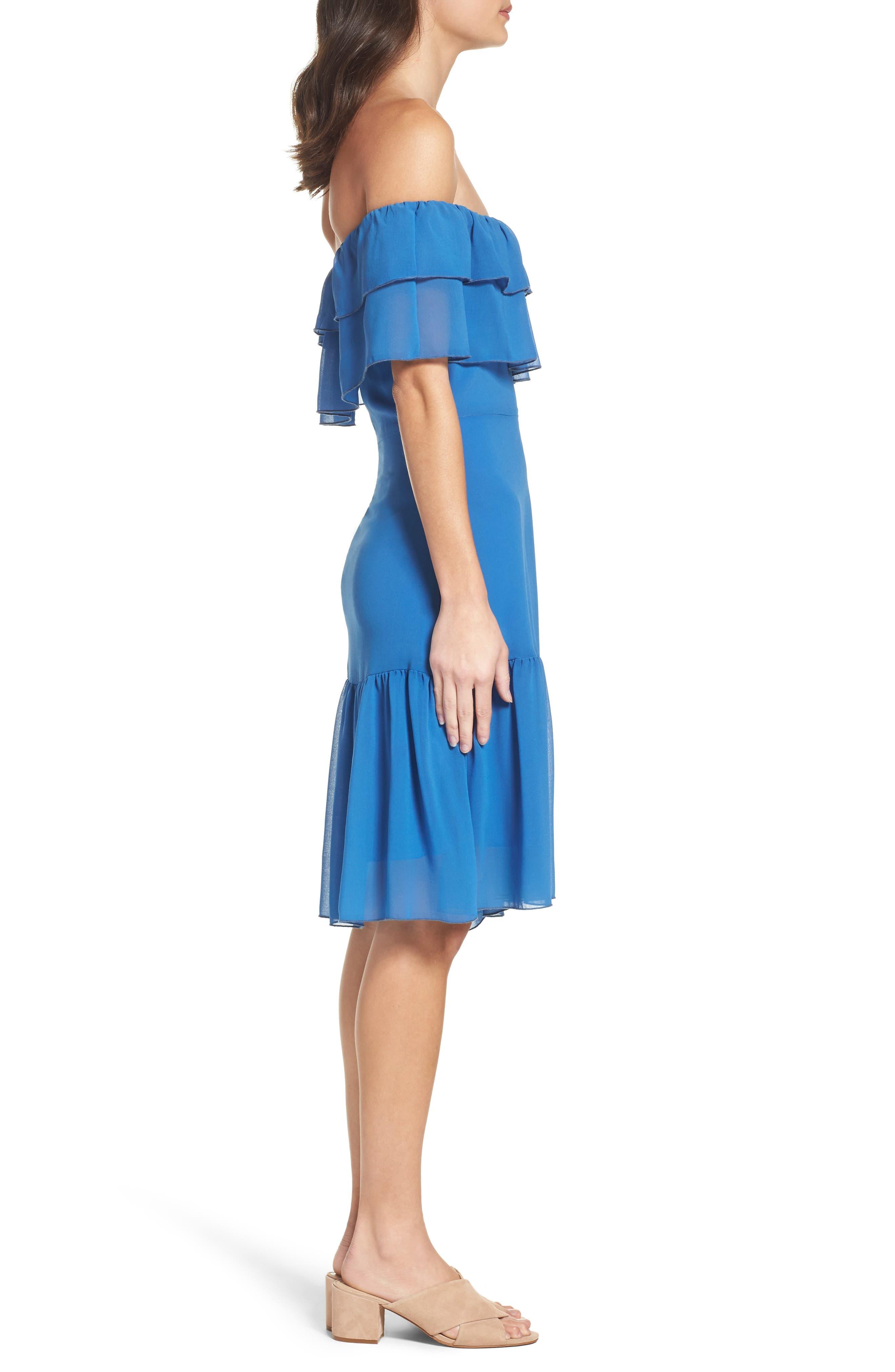 Alternate Image 3  - NSR Ruffle Dress