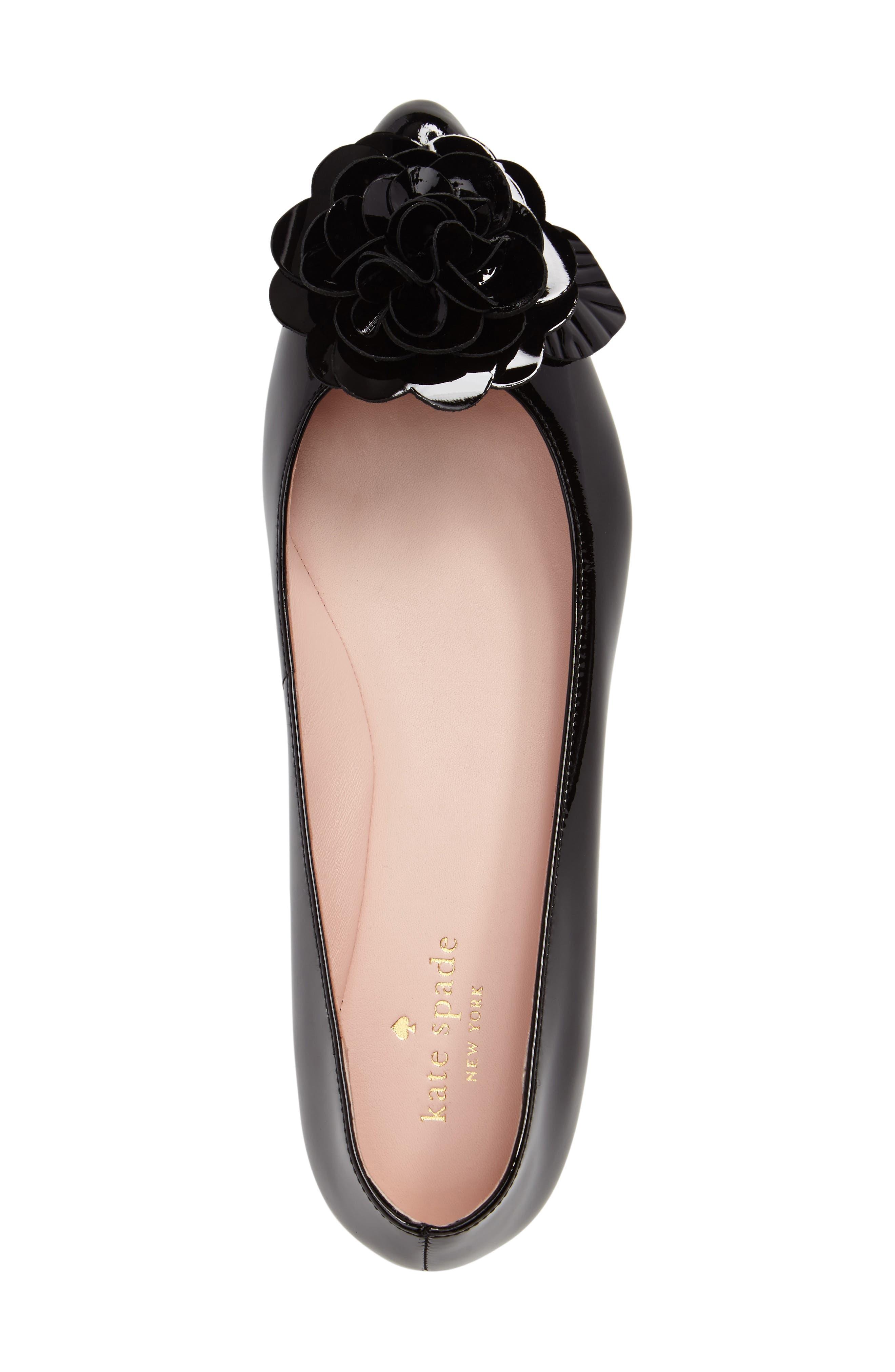 Alternate Image 5  - kate spade new york ellie pointy toe flat (Women)