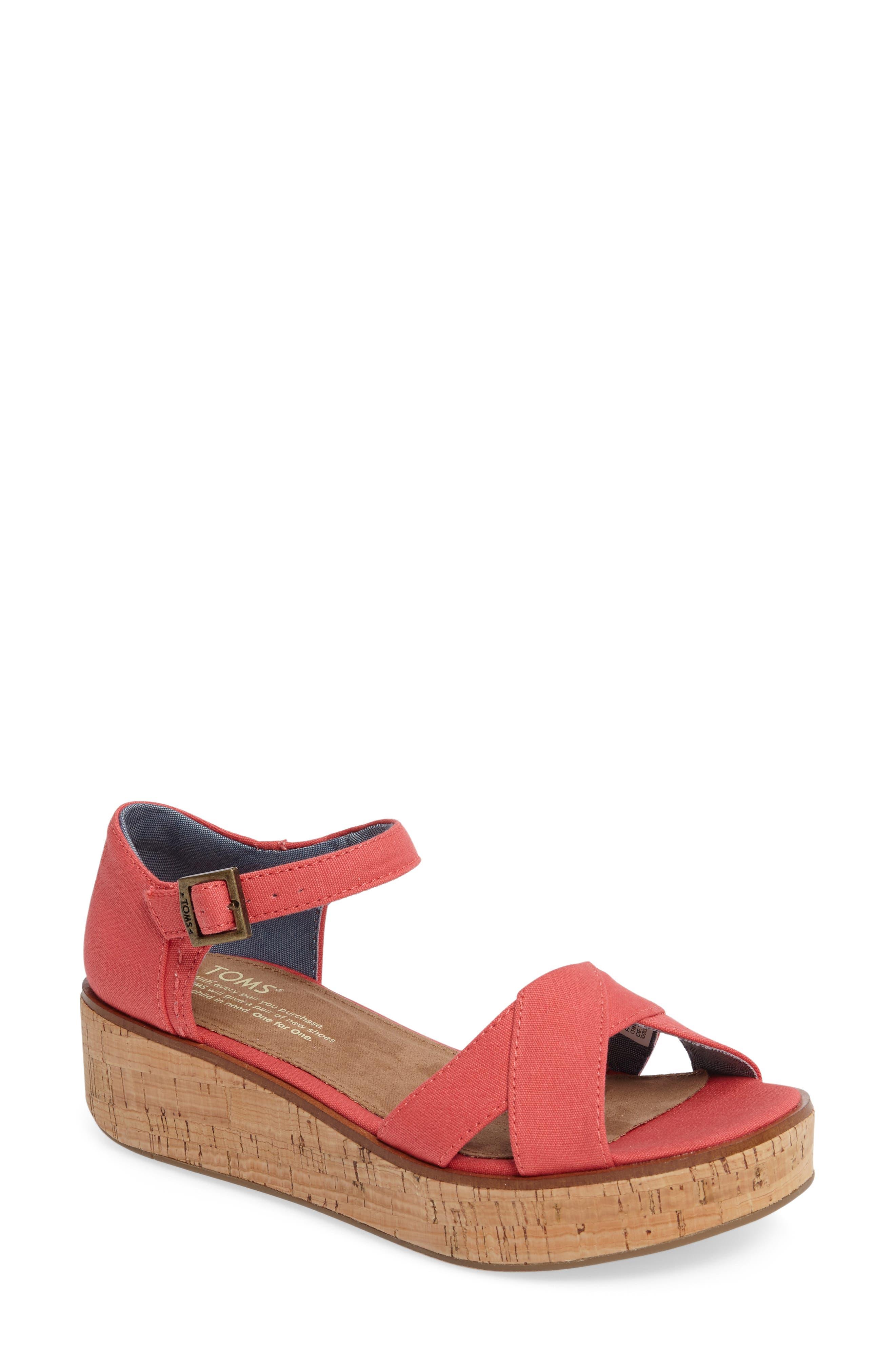 TOMS Harper Platform Sandal (Women)