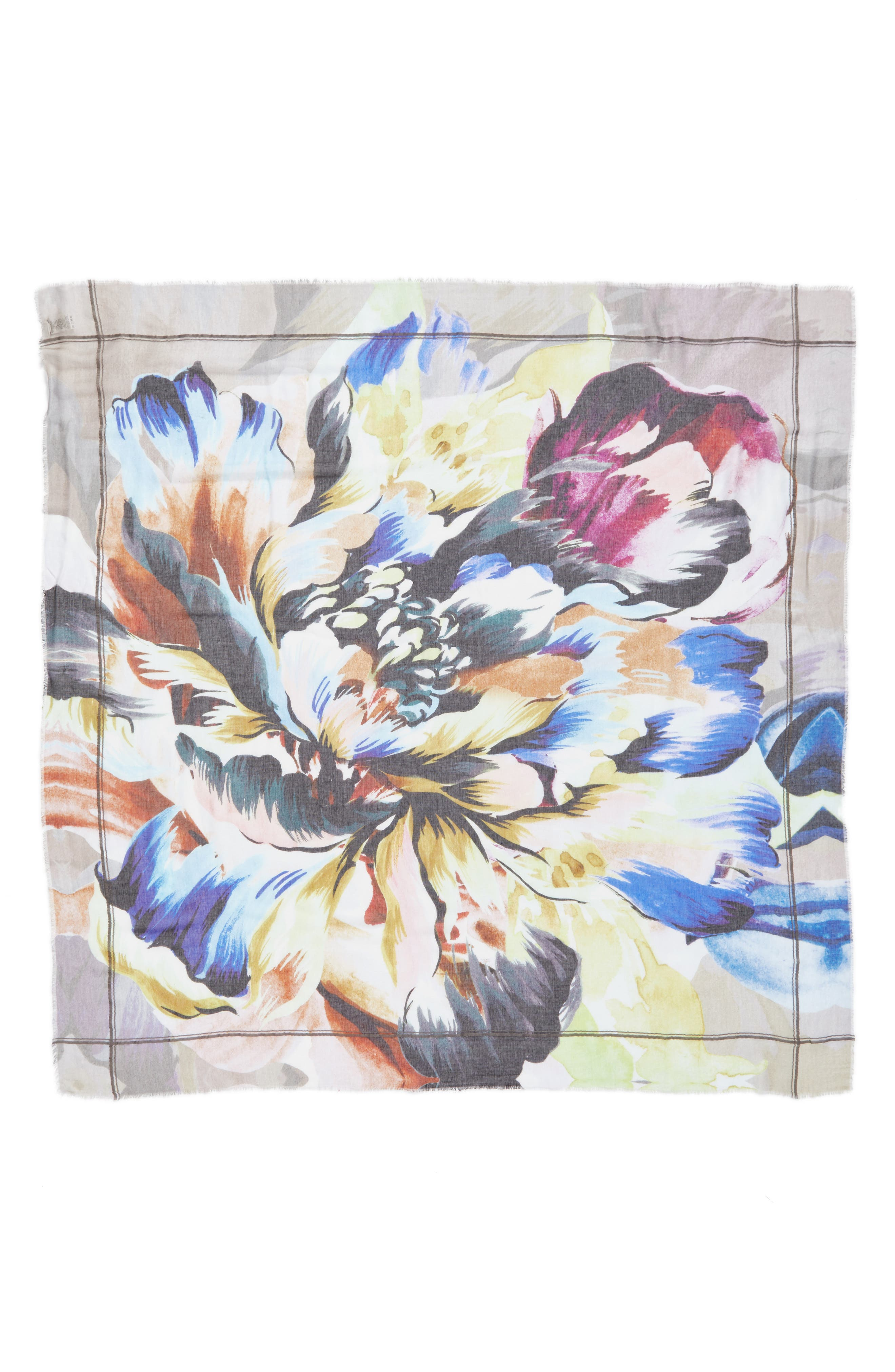 Alternate Image 2  - Echo Cuba Blooms Square Scarf