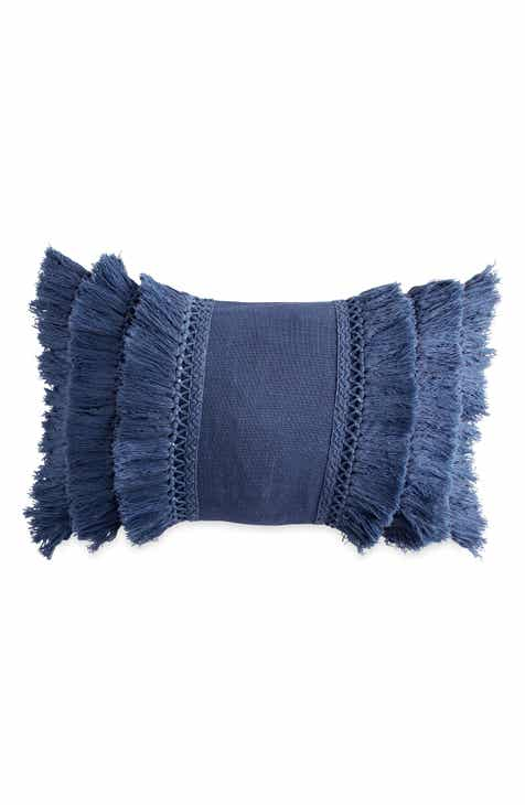Decorative pillows poufs bedrooms nordstrom peri home fringe pillow malvernweather Image collections