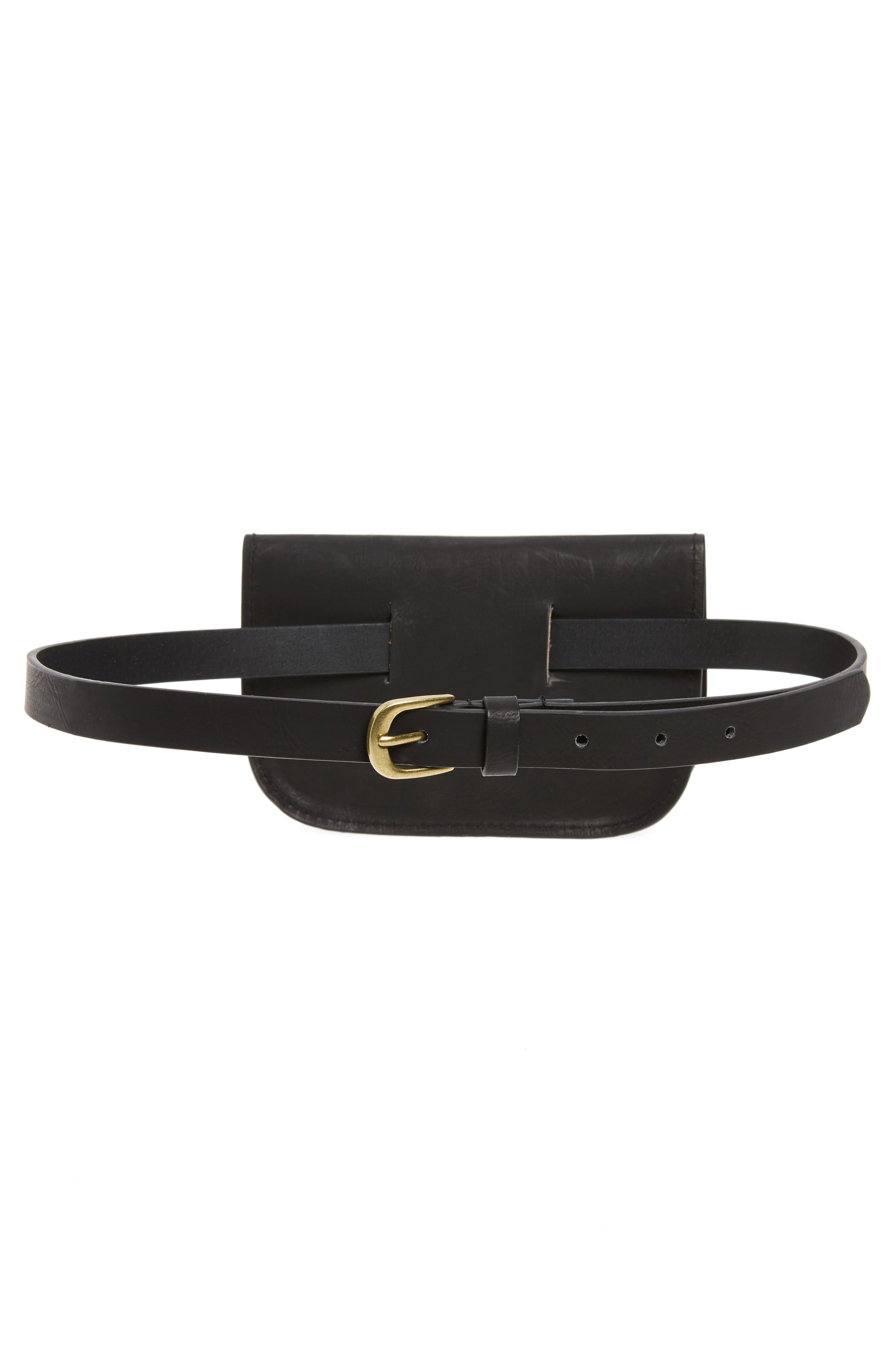 Alternate Image 3  - Accessory Collective Faux Leather Belt Bag