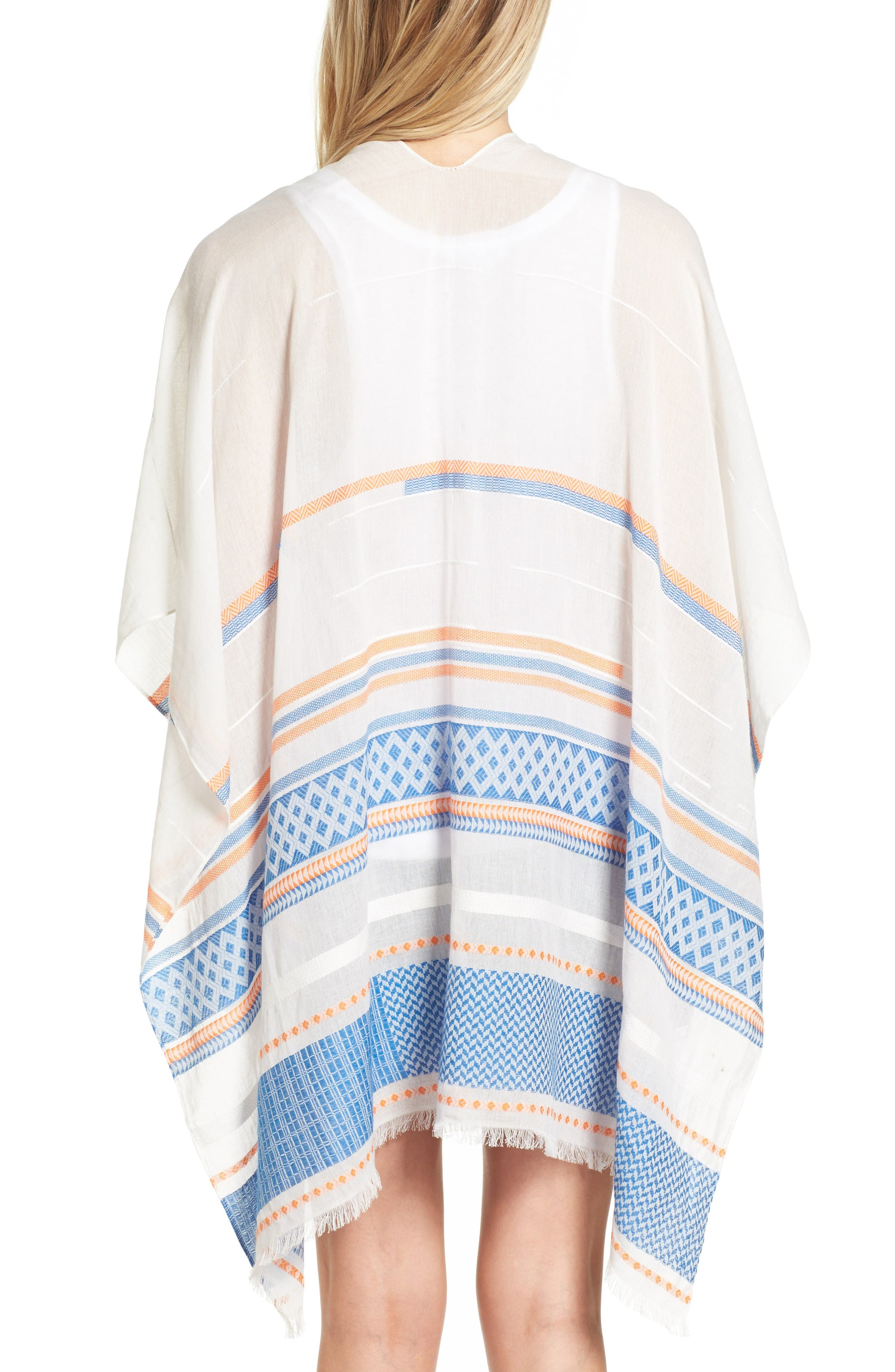 Alternate Image 2  - Rebecca Minkoff Broken Stripe Cape