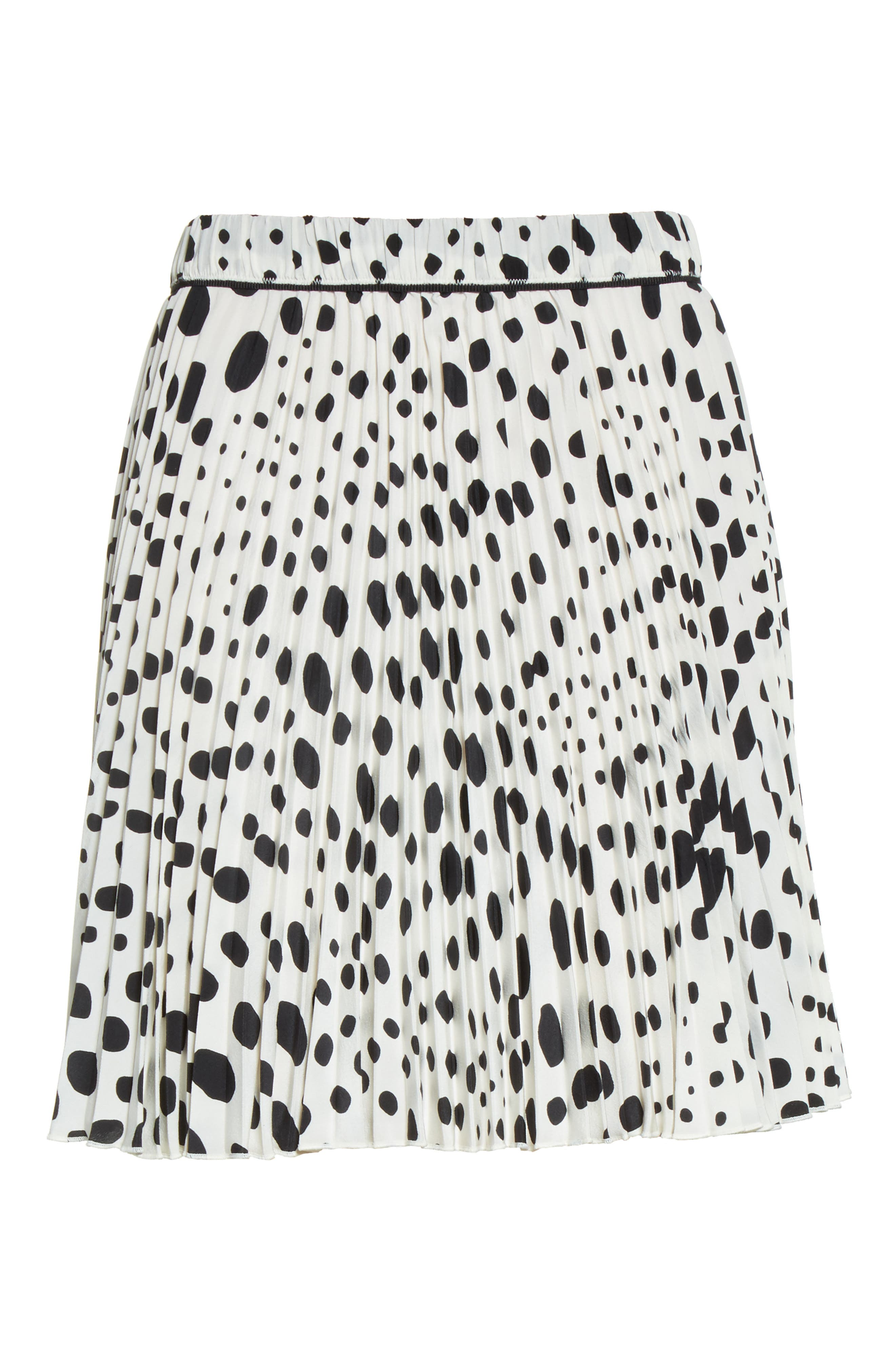Alternate Image 4  - MARC JACOBS Pleated Polka Dot Silk Skirt