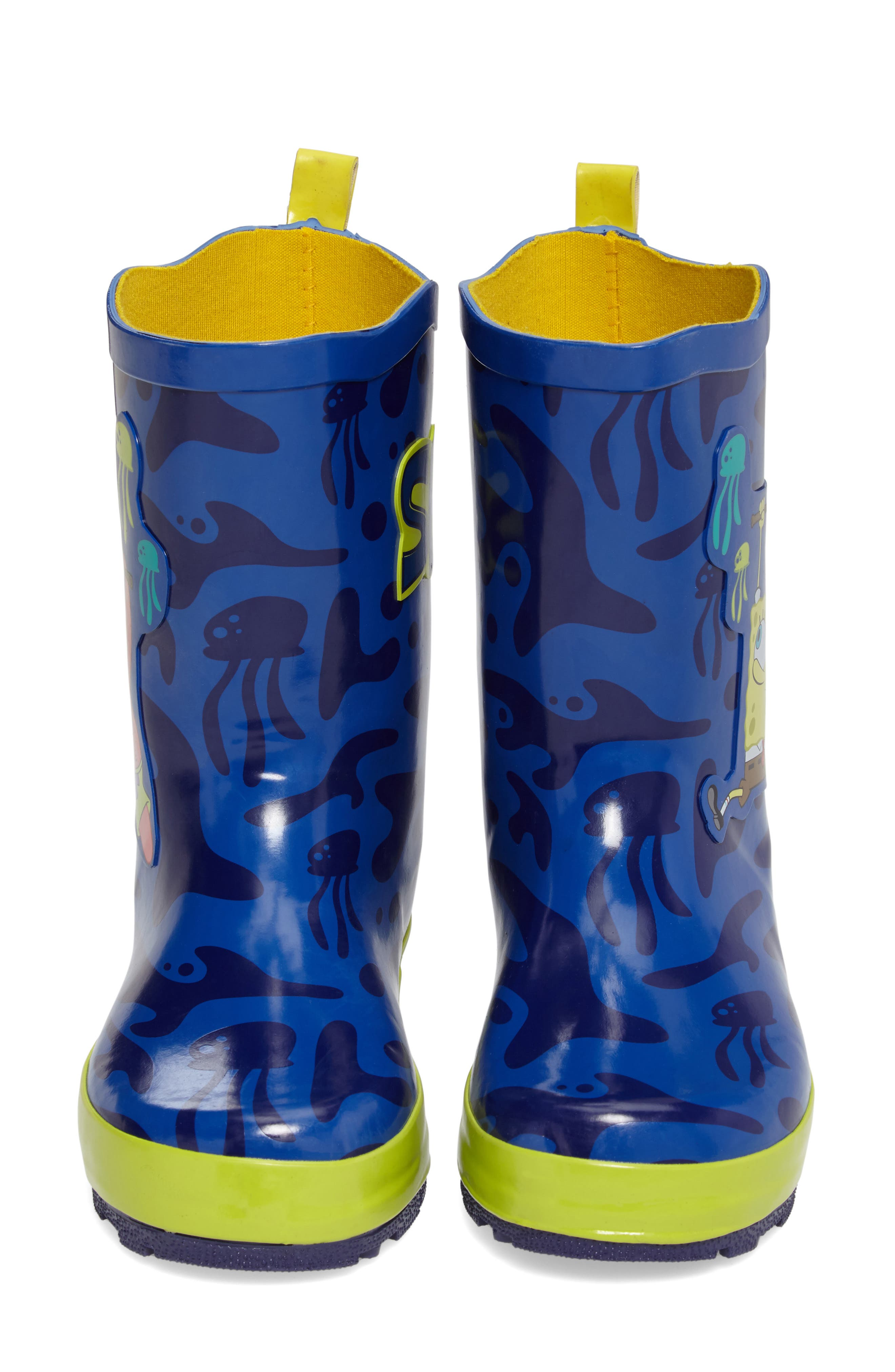 Kidorable SpongeBob SquarePants Rain Boot (Walker, Toddler & Little Kid)