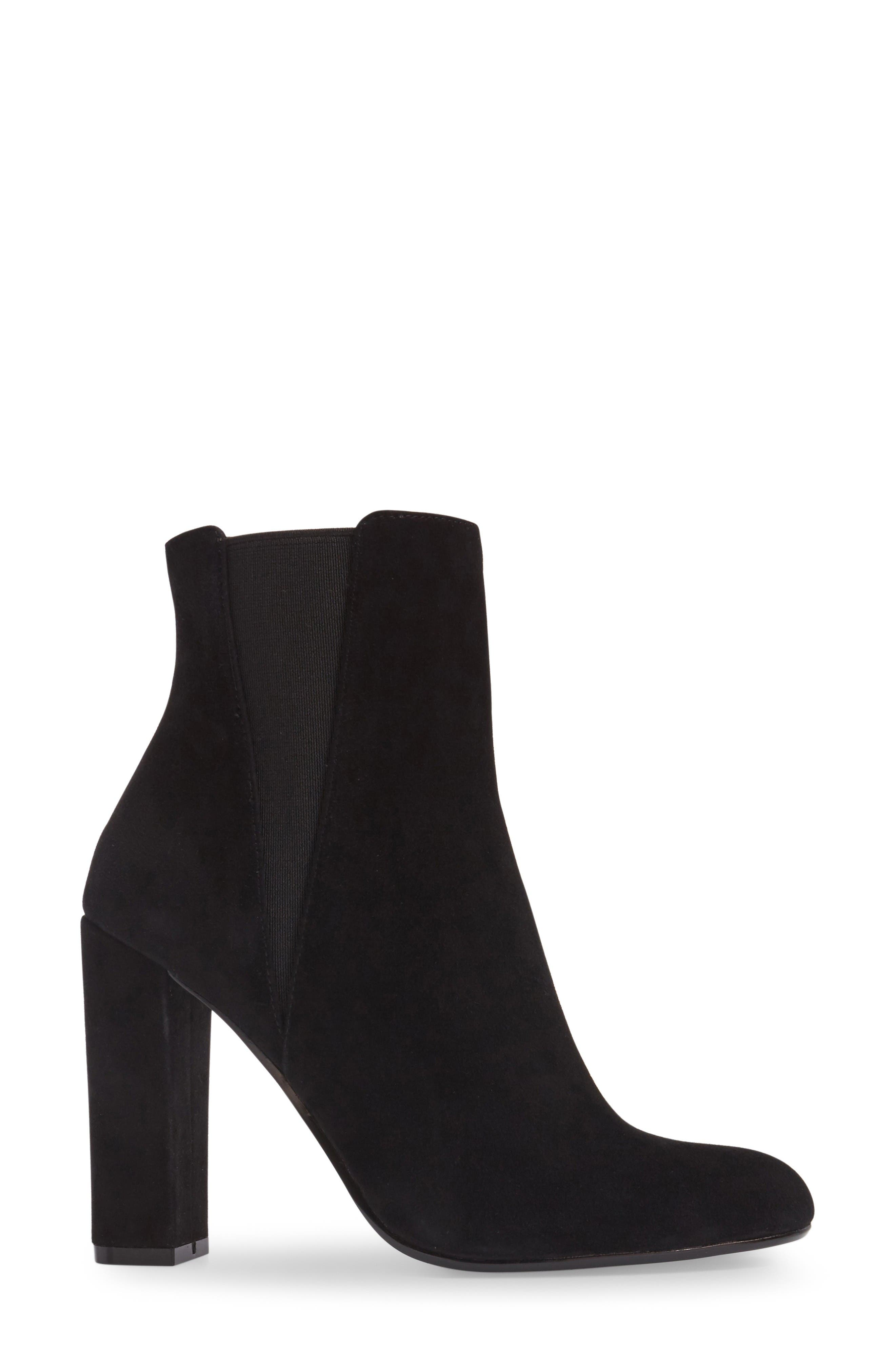 Alternate Image 3  - Steve Madden Effect Block Heel Bootie (Women)