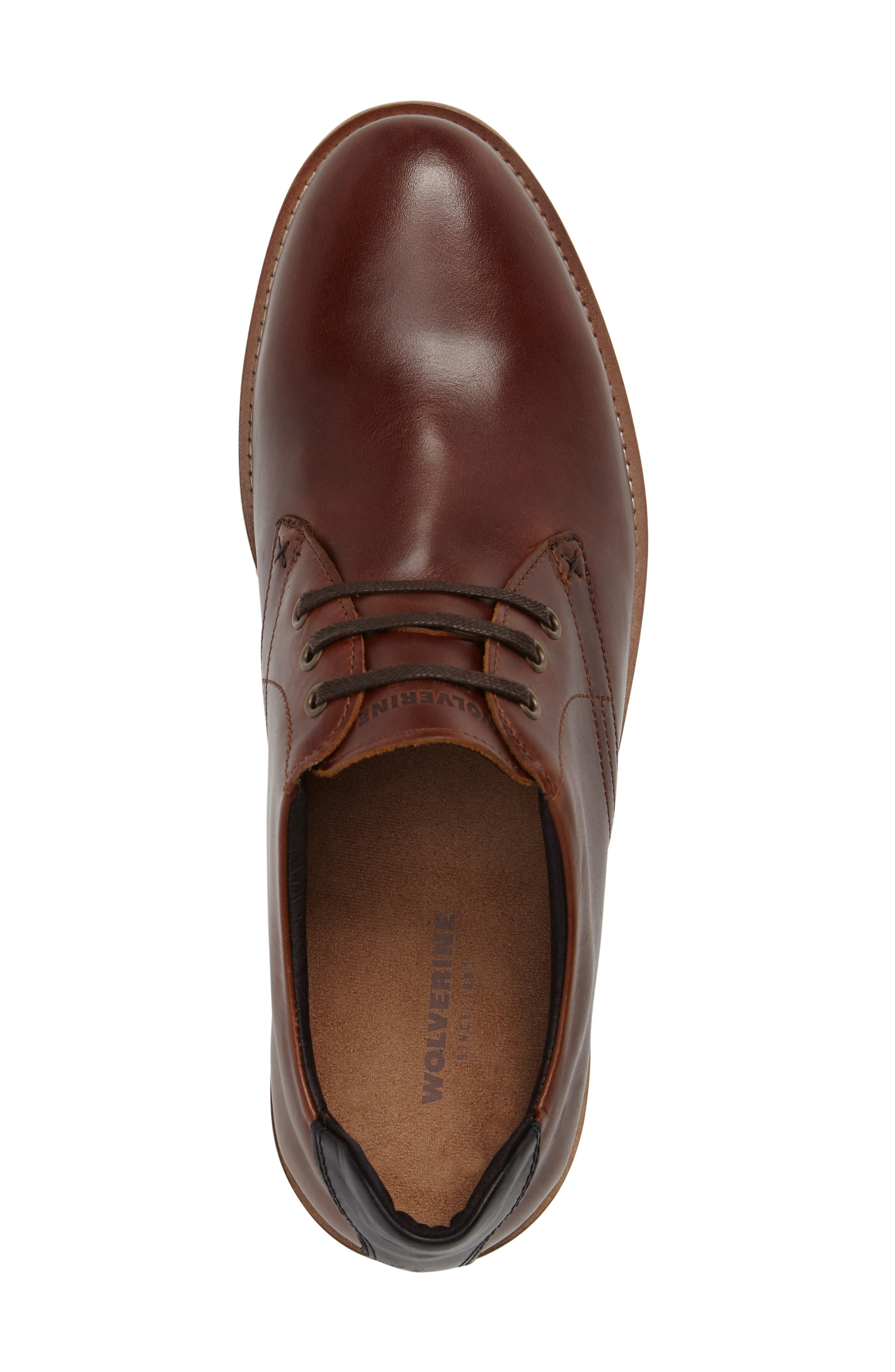 Alternate Image 5  - Wolverine Reuben Plain Toe Derby (Men)