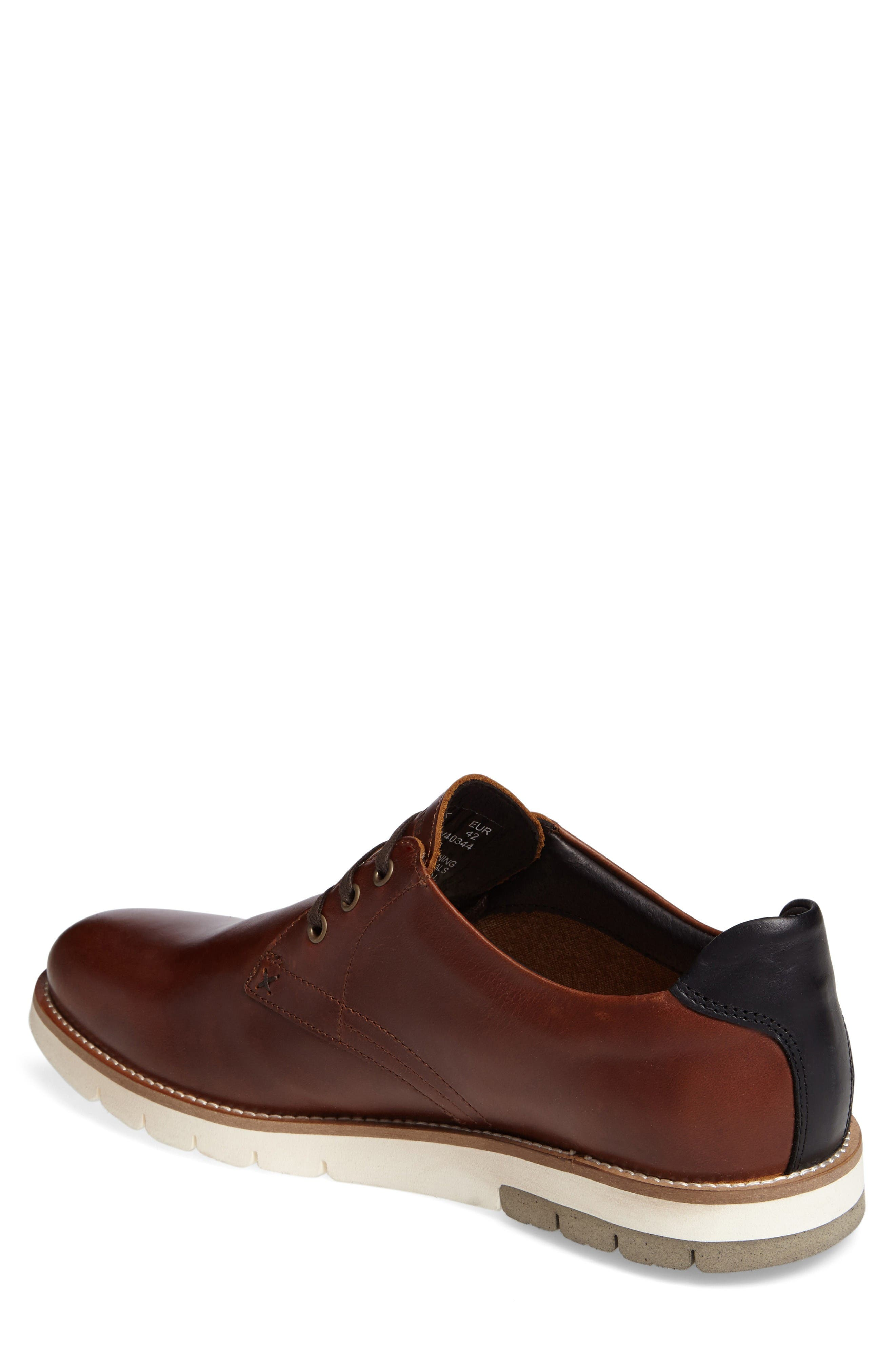 Alternate Image 2  - Wolverine Reuben Plain Toe Derby (Men)