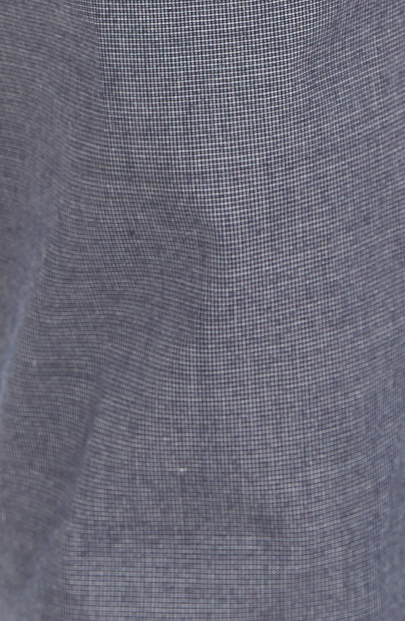 Alternate Image 5  - Original Penguin Crosshatch Slub Trousers