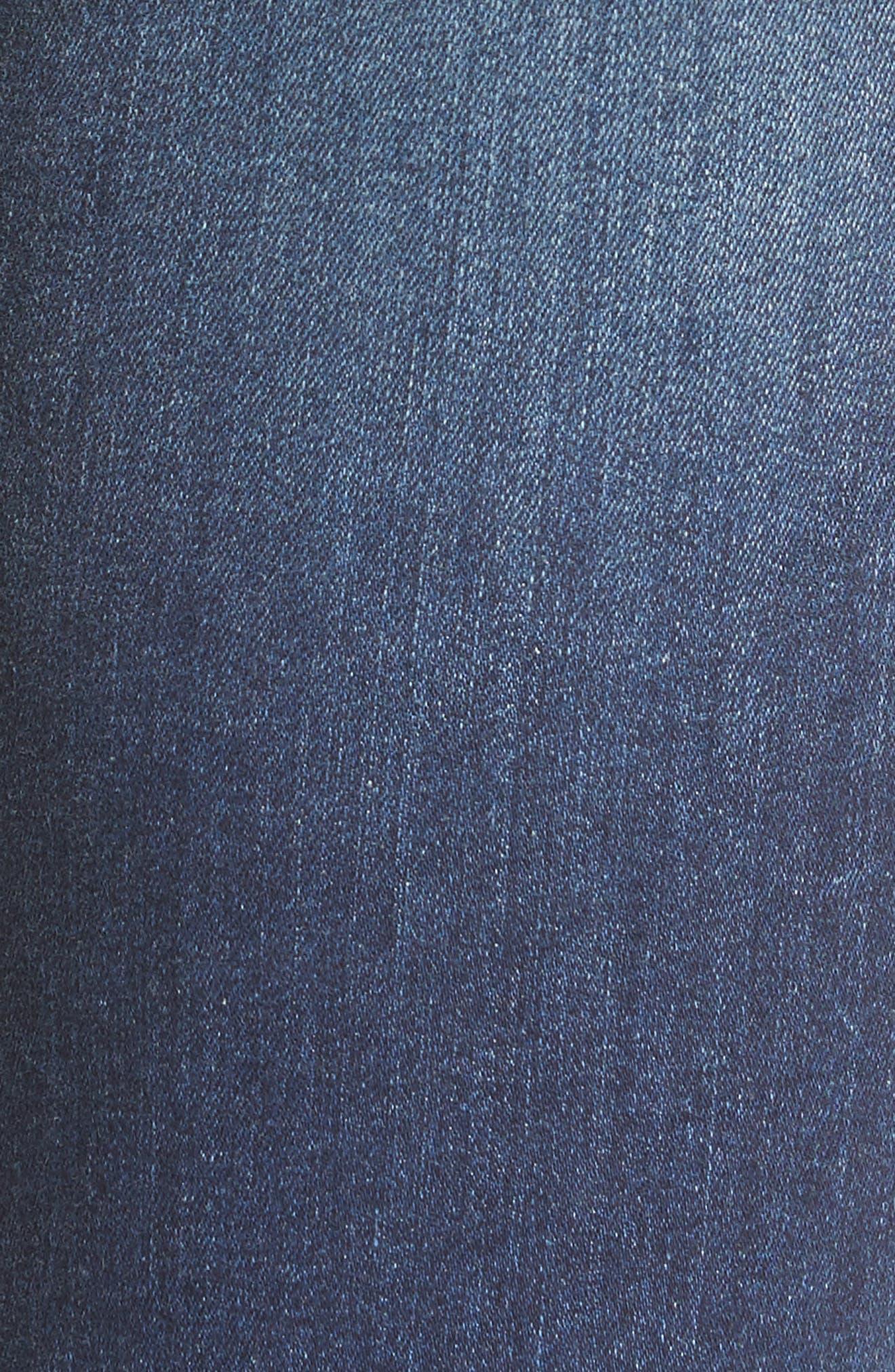 Alternate Image 6  - KUT from the Kloth Diana Ripped Stretch Skinny Jeans (Valorous) (Regular & Petite)