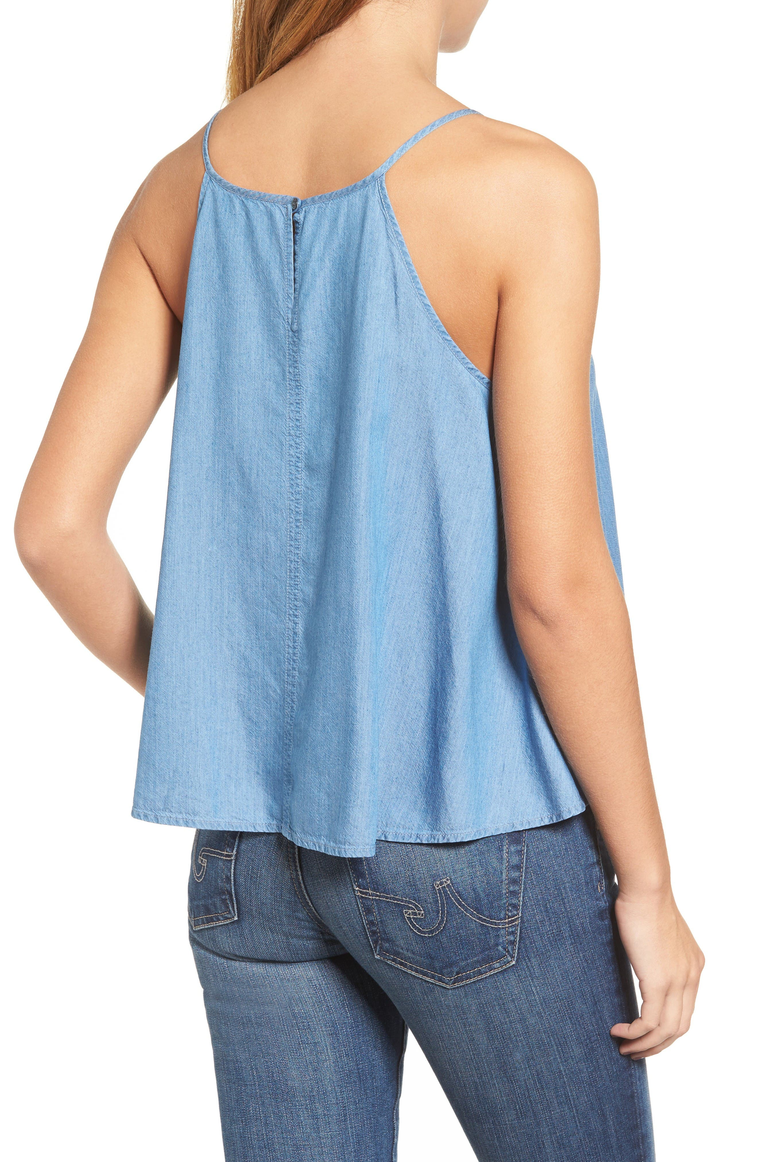 Alternate Image 2  - AG Felicity Chambray Tank