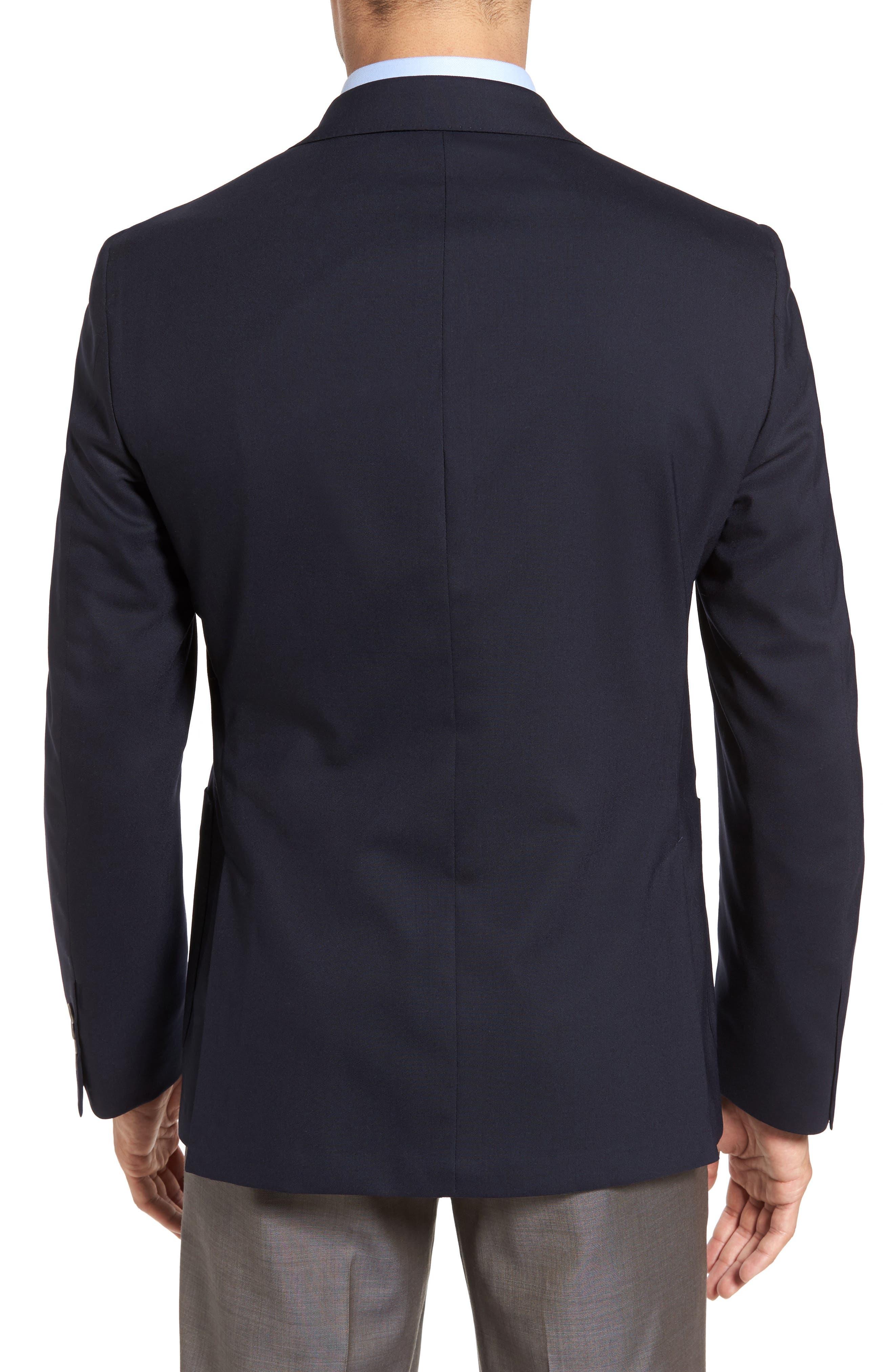 Alternate Image 2  - Samuelsohn Classic Fit Stretch Wool Travel Blazer