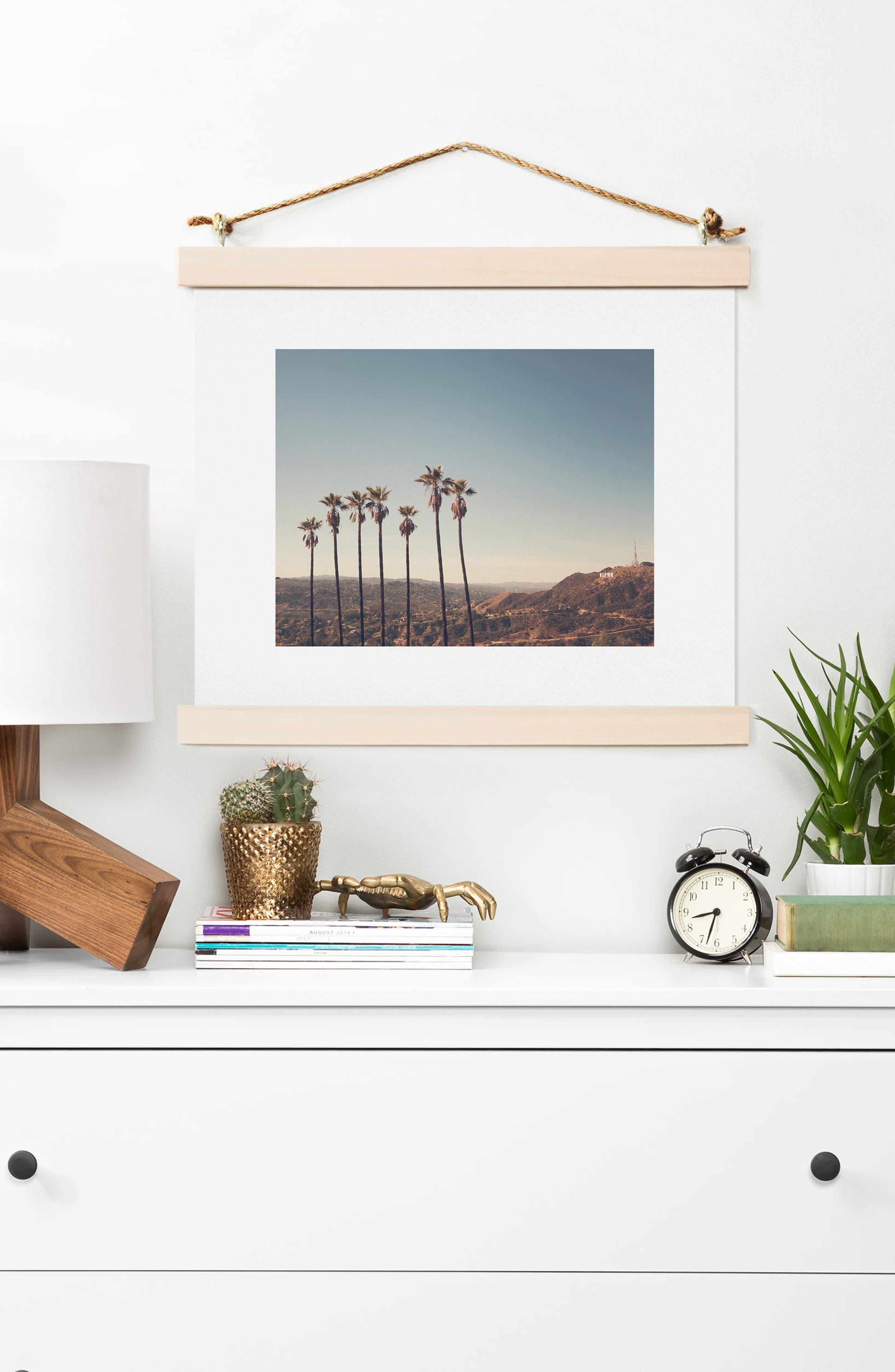 Alternate Image 2  - Deny Designs Hollywood Hills Art Print
