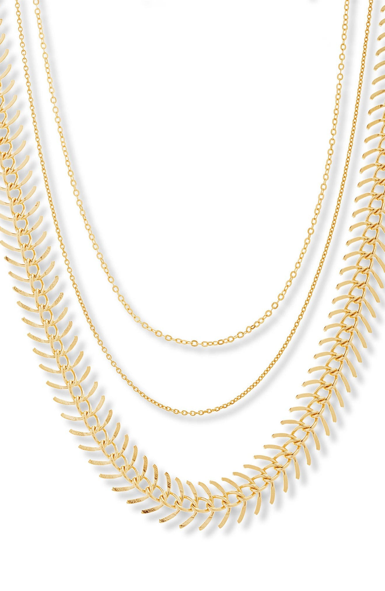 Steve Madden Layered Chain Choker