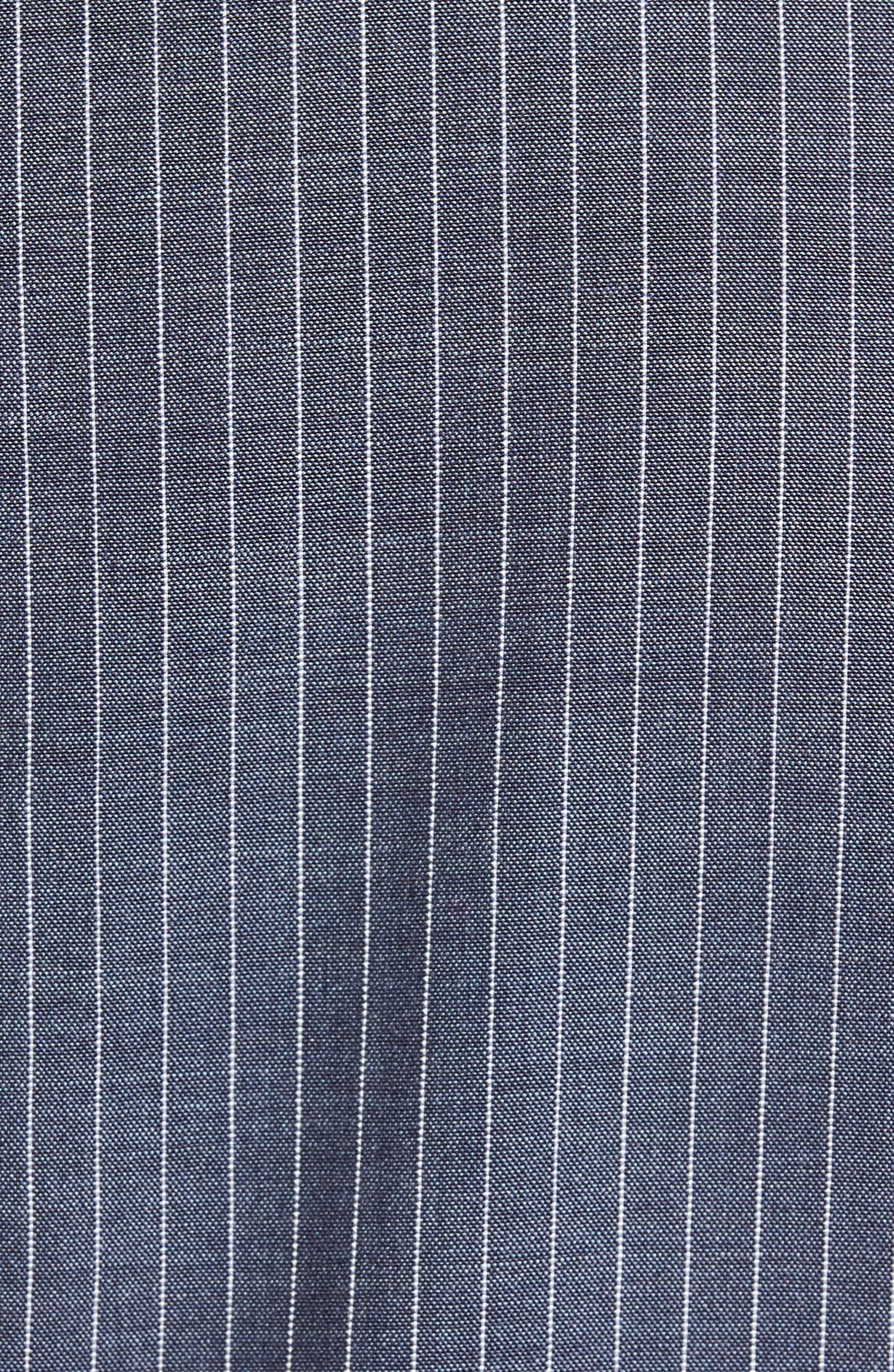 Beckett Classic Fit Stripe Wool Suit,                             Alternate thumbnail 8, color,                             Light Blue