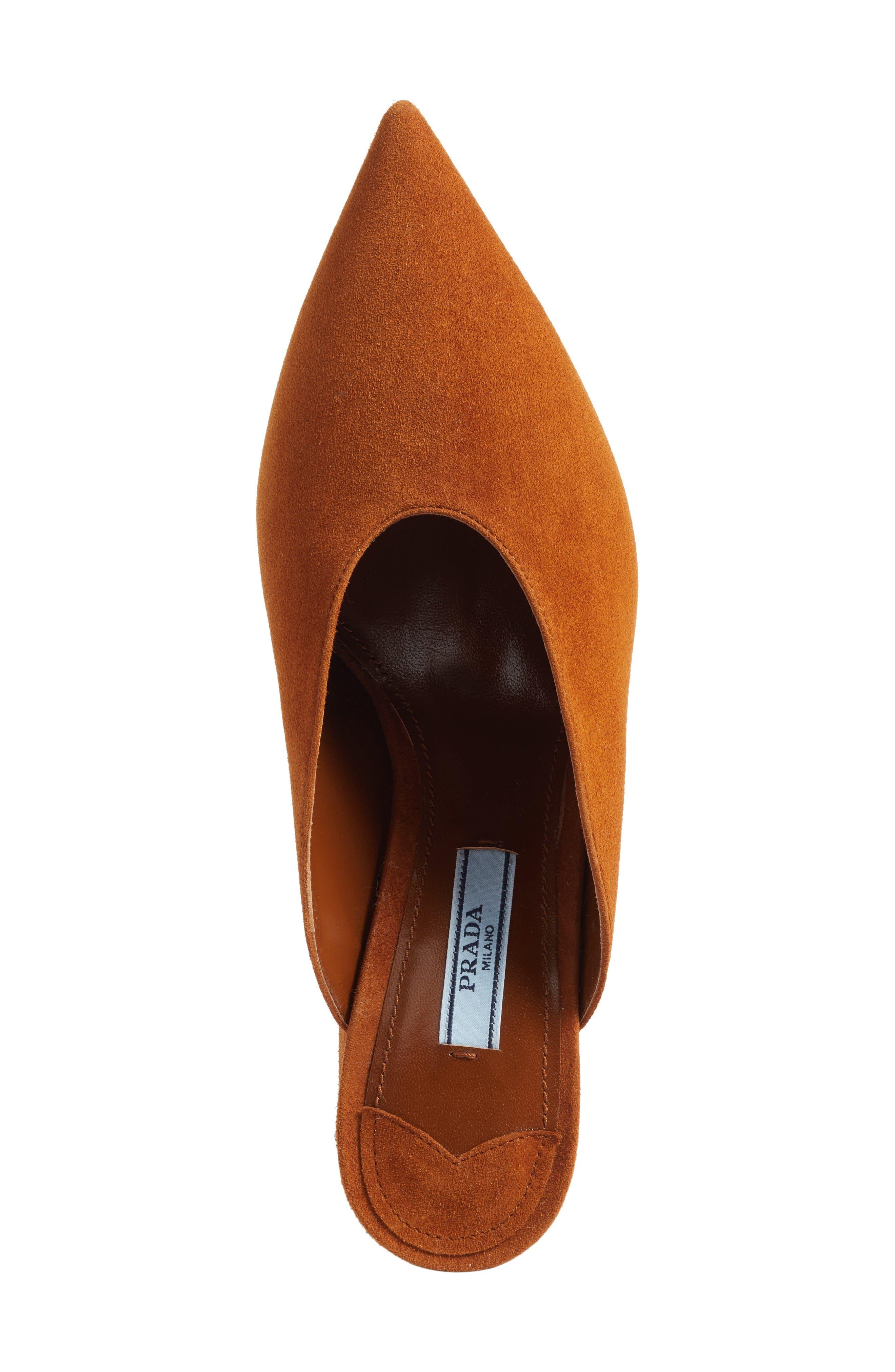 Alternate Image 5  - Prada Slant Heel Mule (Women)