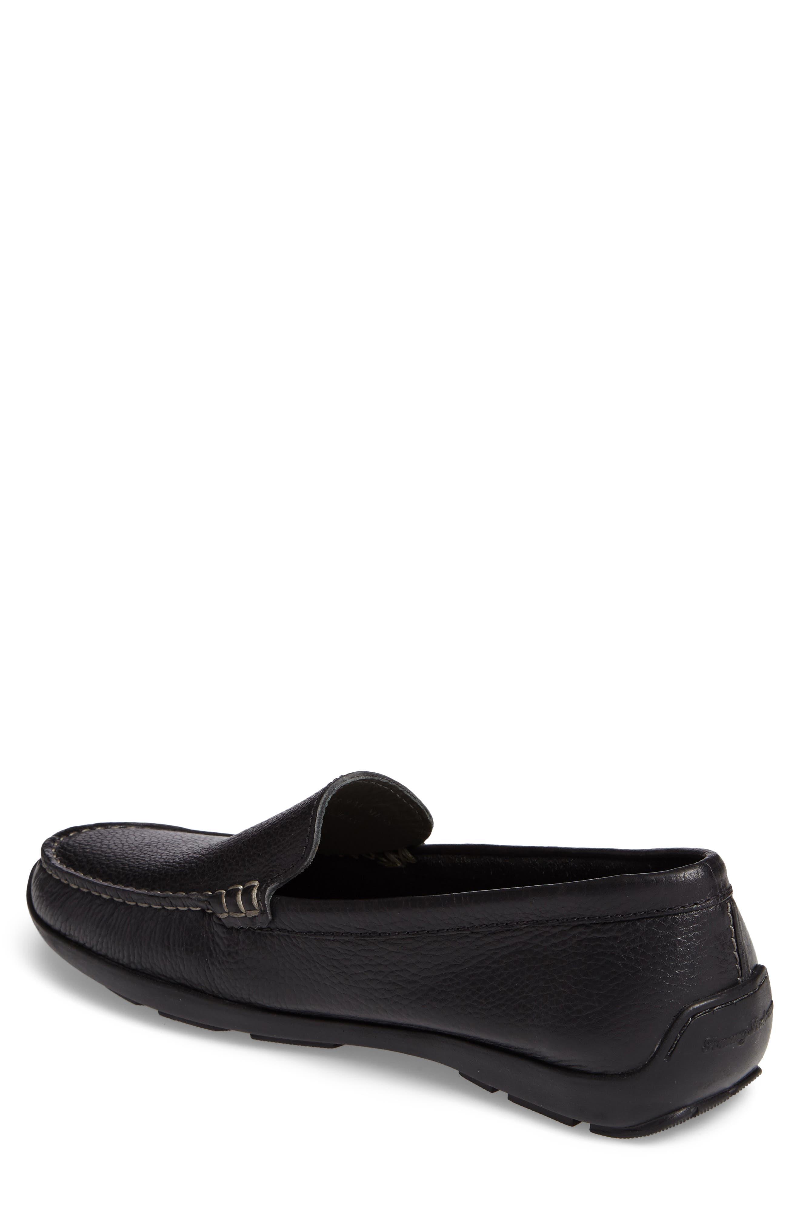 Orion Venetian Loafer,                             Alternate thumbnail 2, color,                             Black Leather