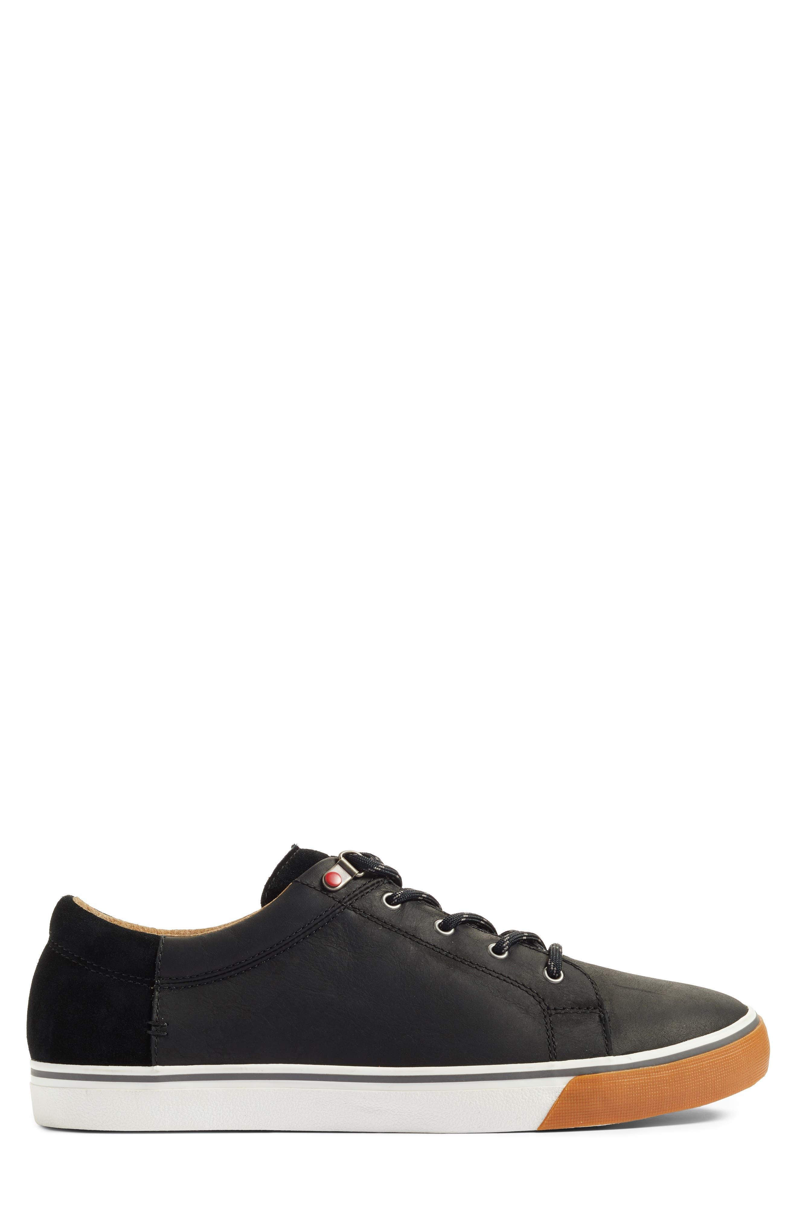 Brock Sneaker,                             Alternate thumbnail 3, color,                             Black