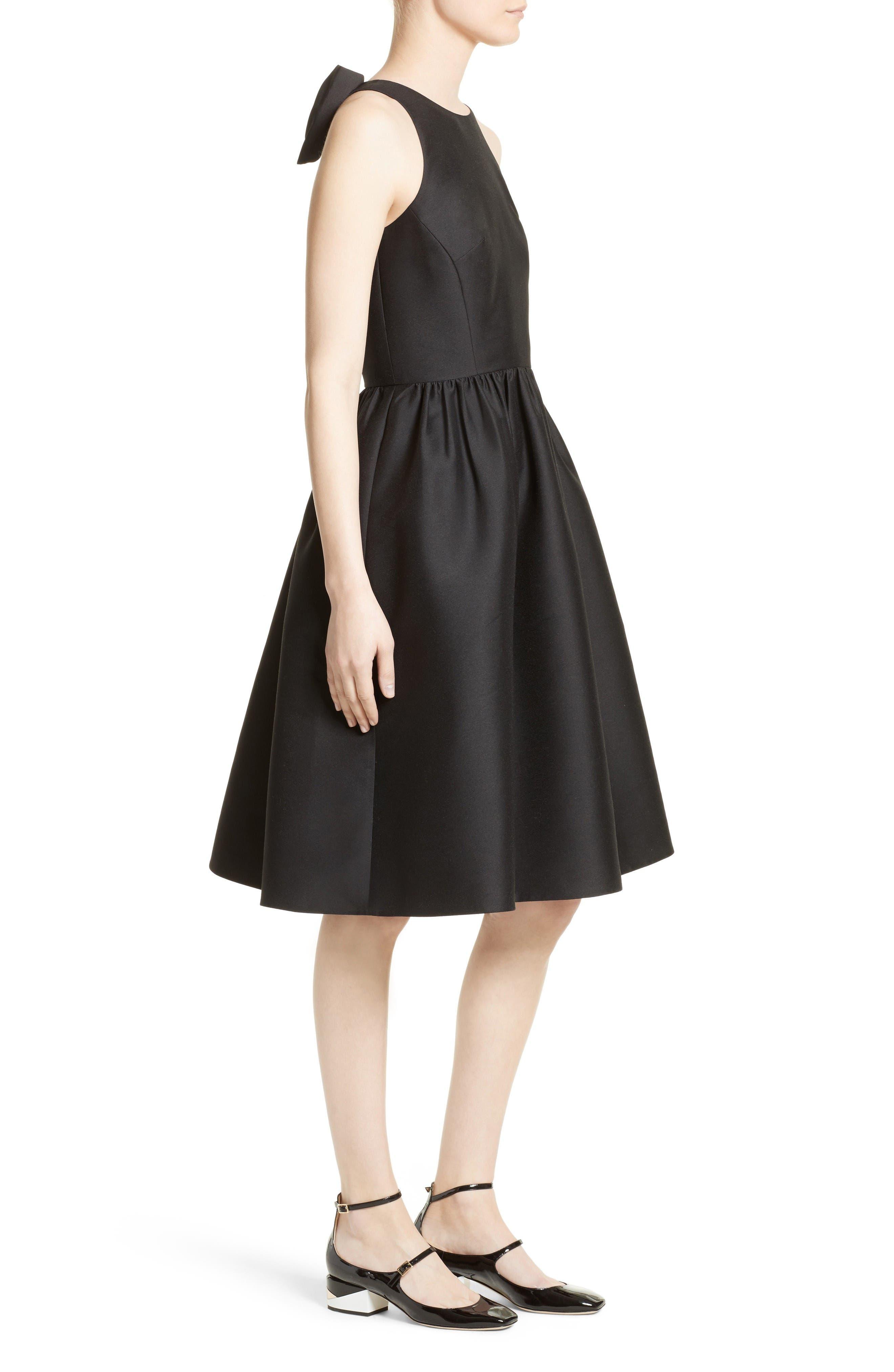 Alternate Image 3  - kate spade new york bow back fit & flare dress
