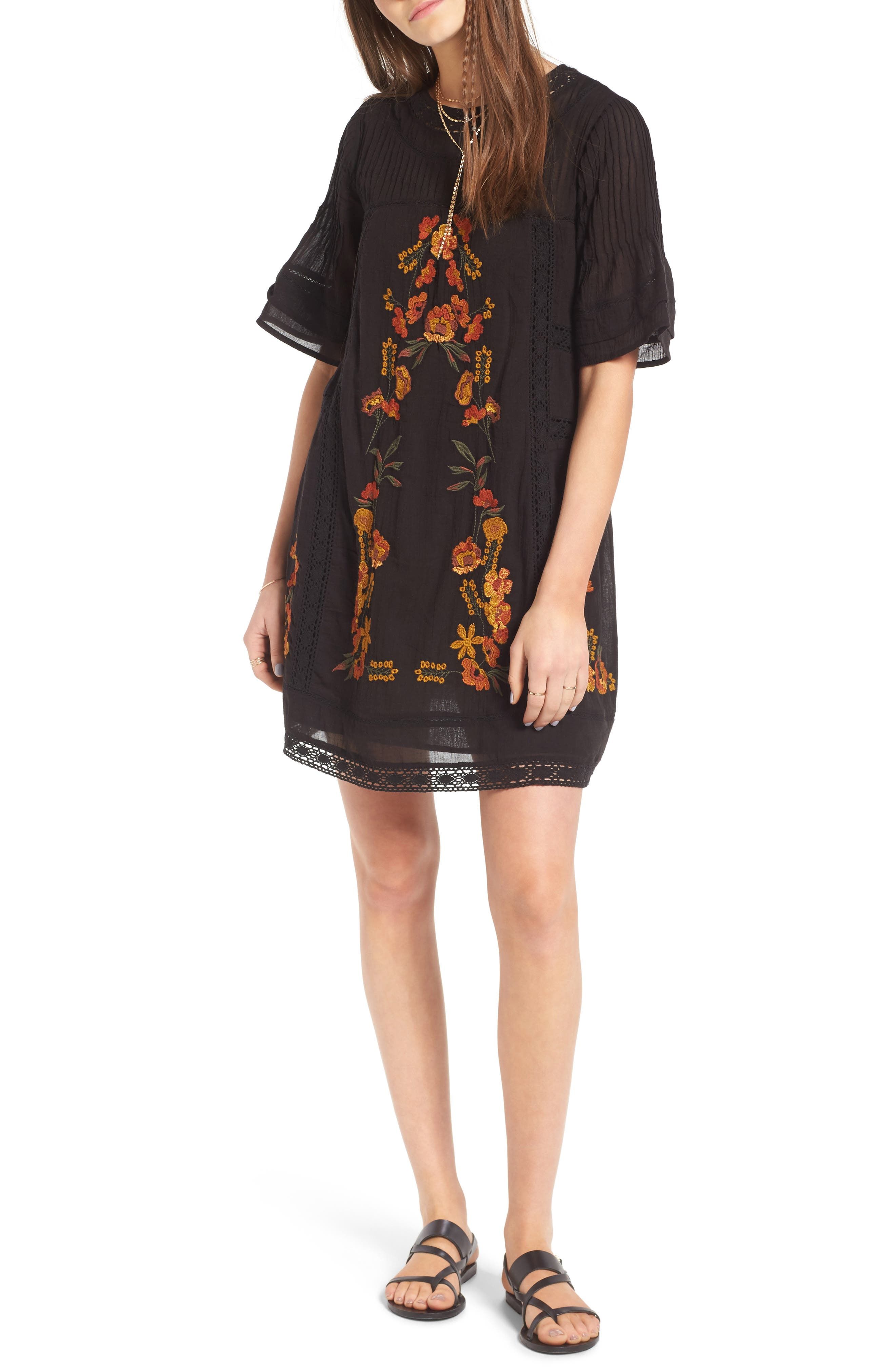 Free People 'Perfectly Victorian' Minidress
