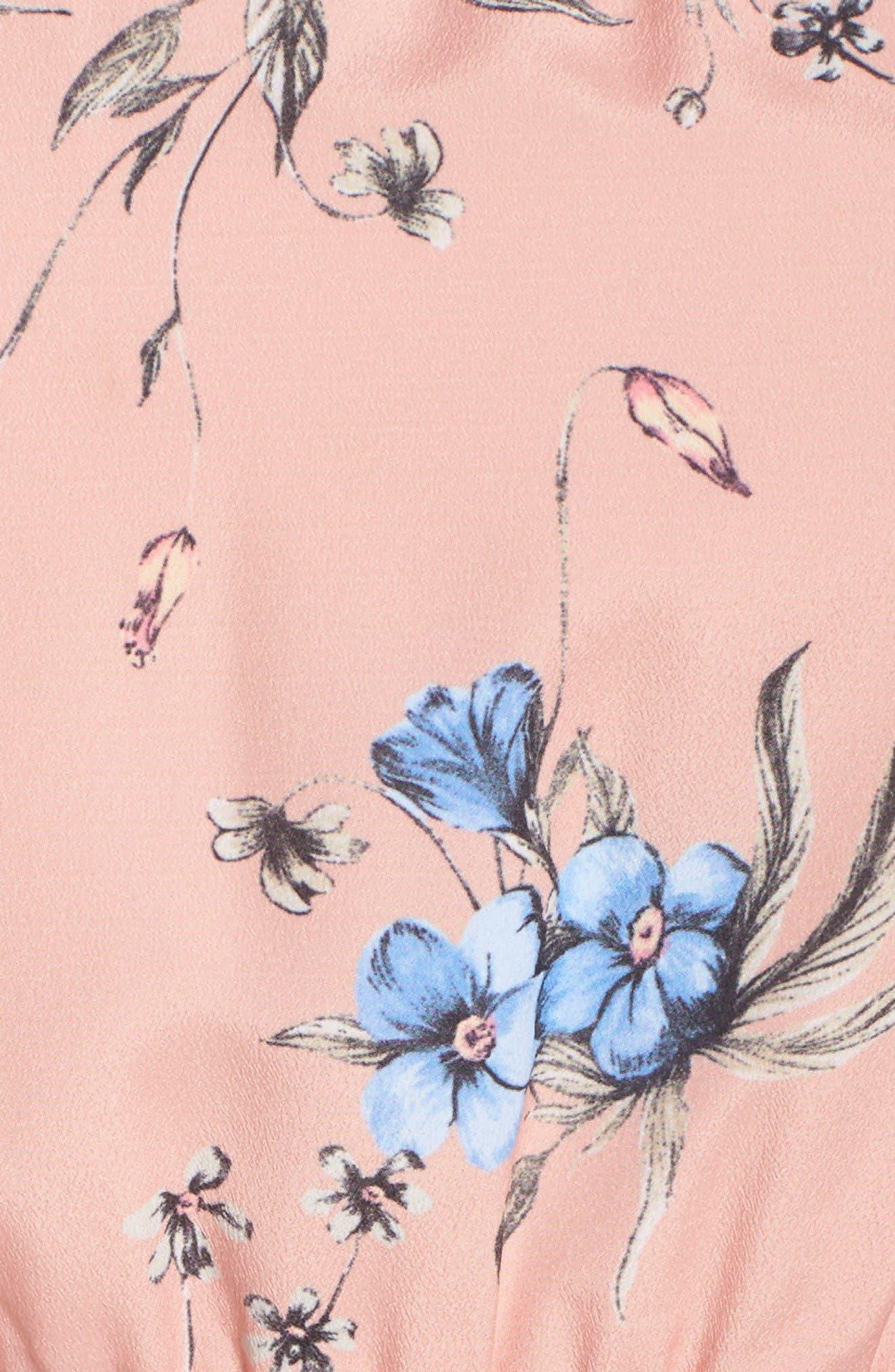 Alternate Image 6  - Ali & Jay Floral Print Romper