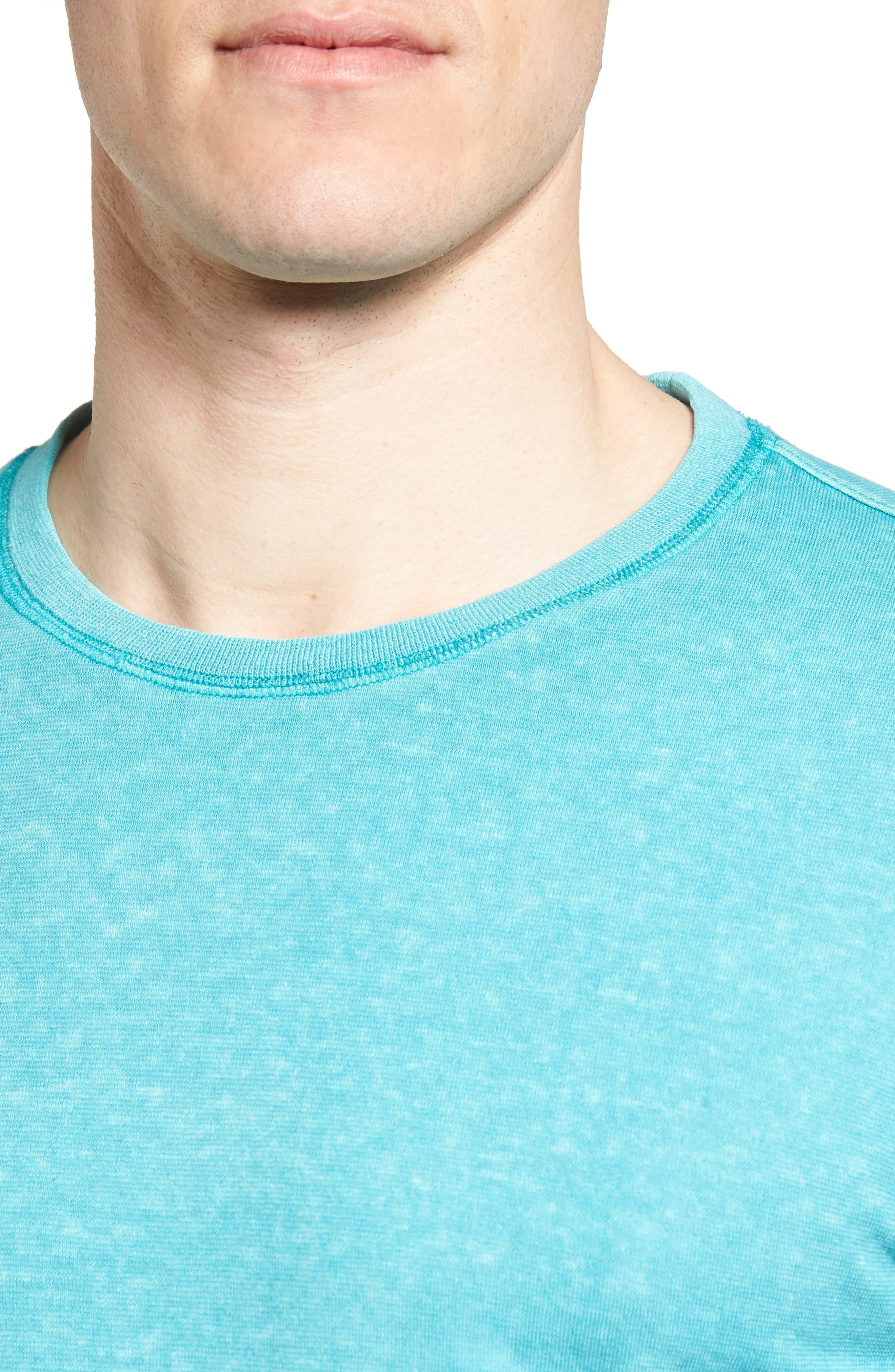 Camura T-Shirt,                             Alternate thumbnail 4, color,                             Fiji Blue