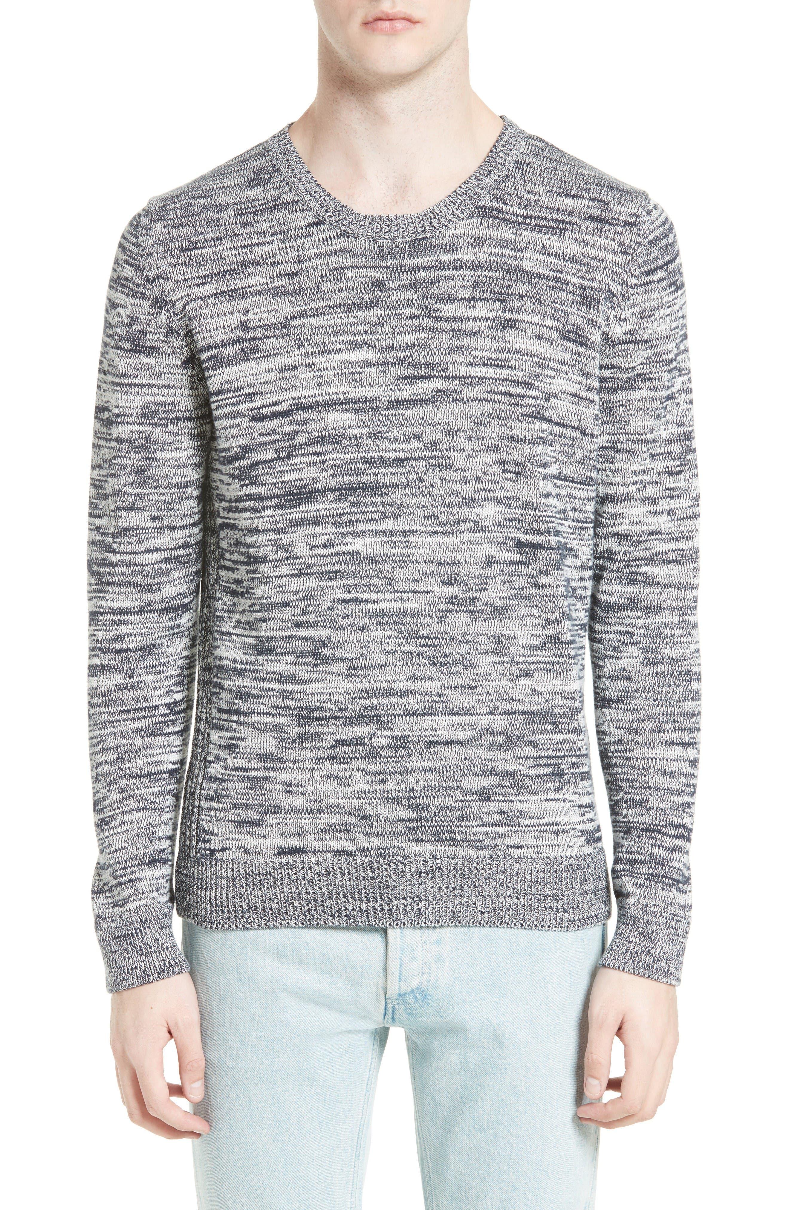 A.P.C. Soto Mélange Cotton Sweater