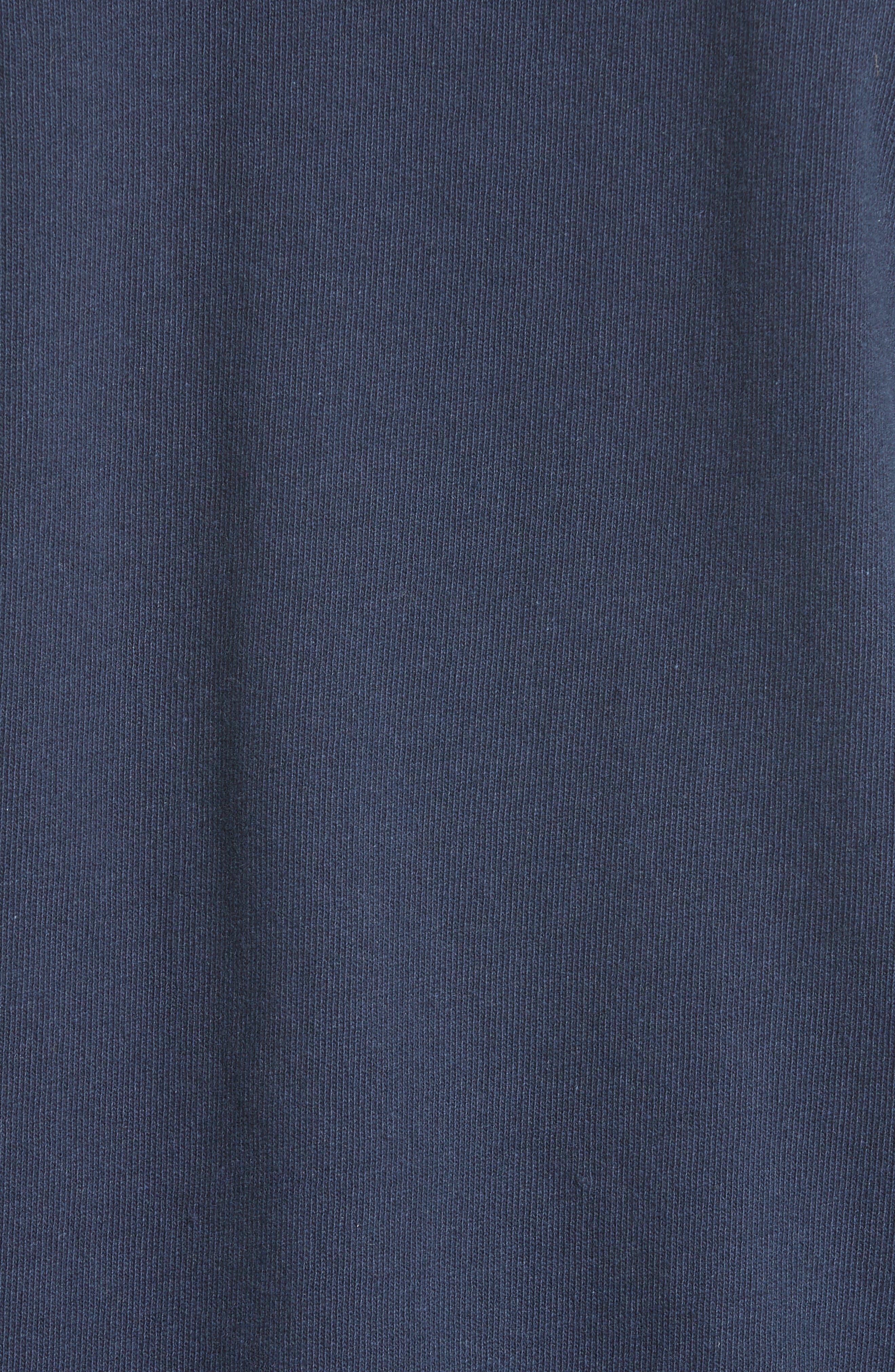 Hike Sweatshirt,                             Alternate thumbnail 5, color,                             Blue