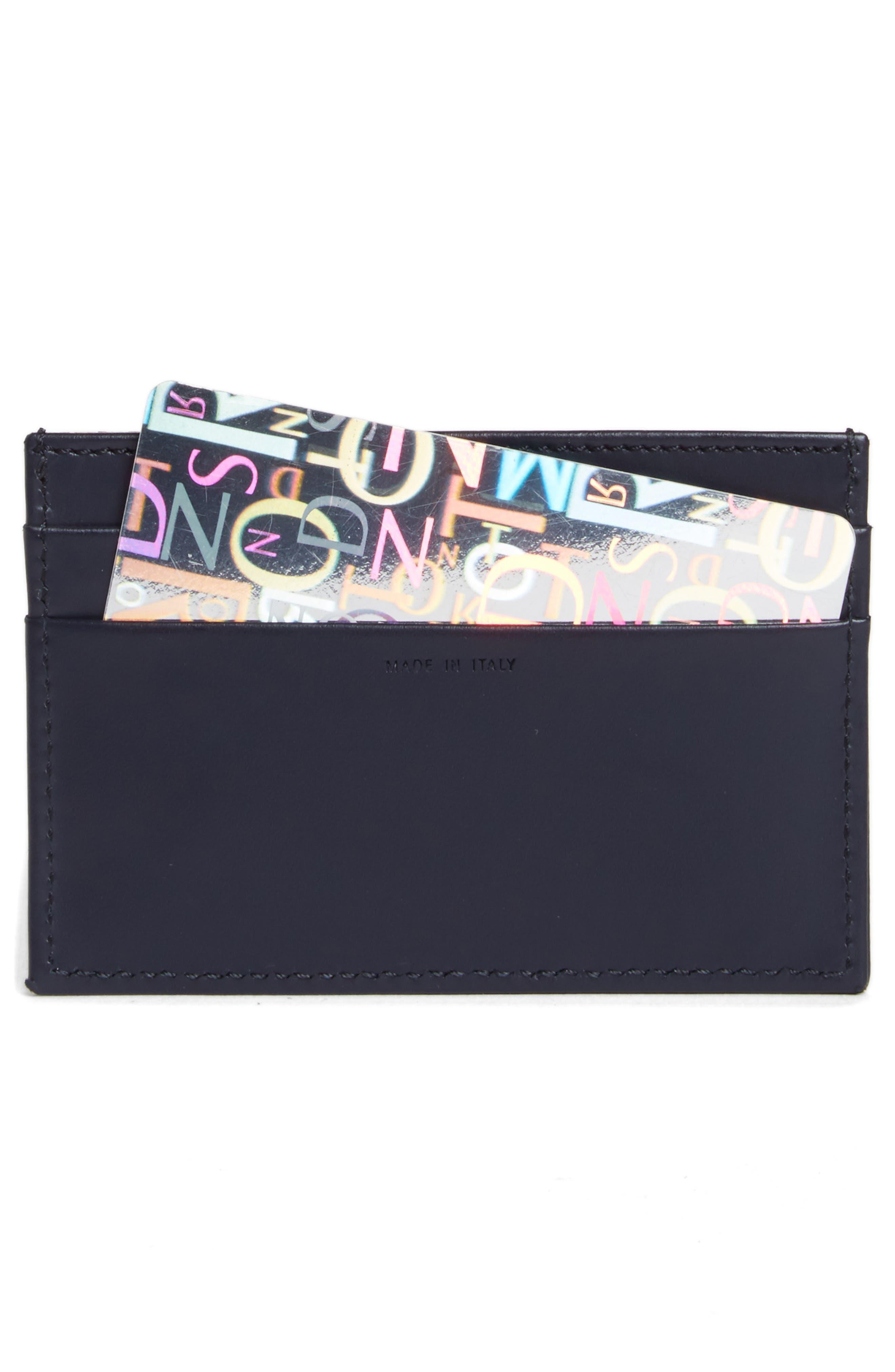 Alternate Image 2  - Paul Smith Multistripe Leather Card Case
