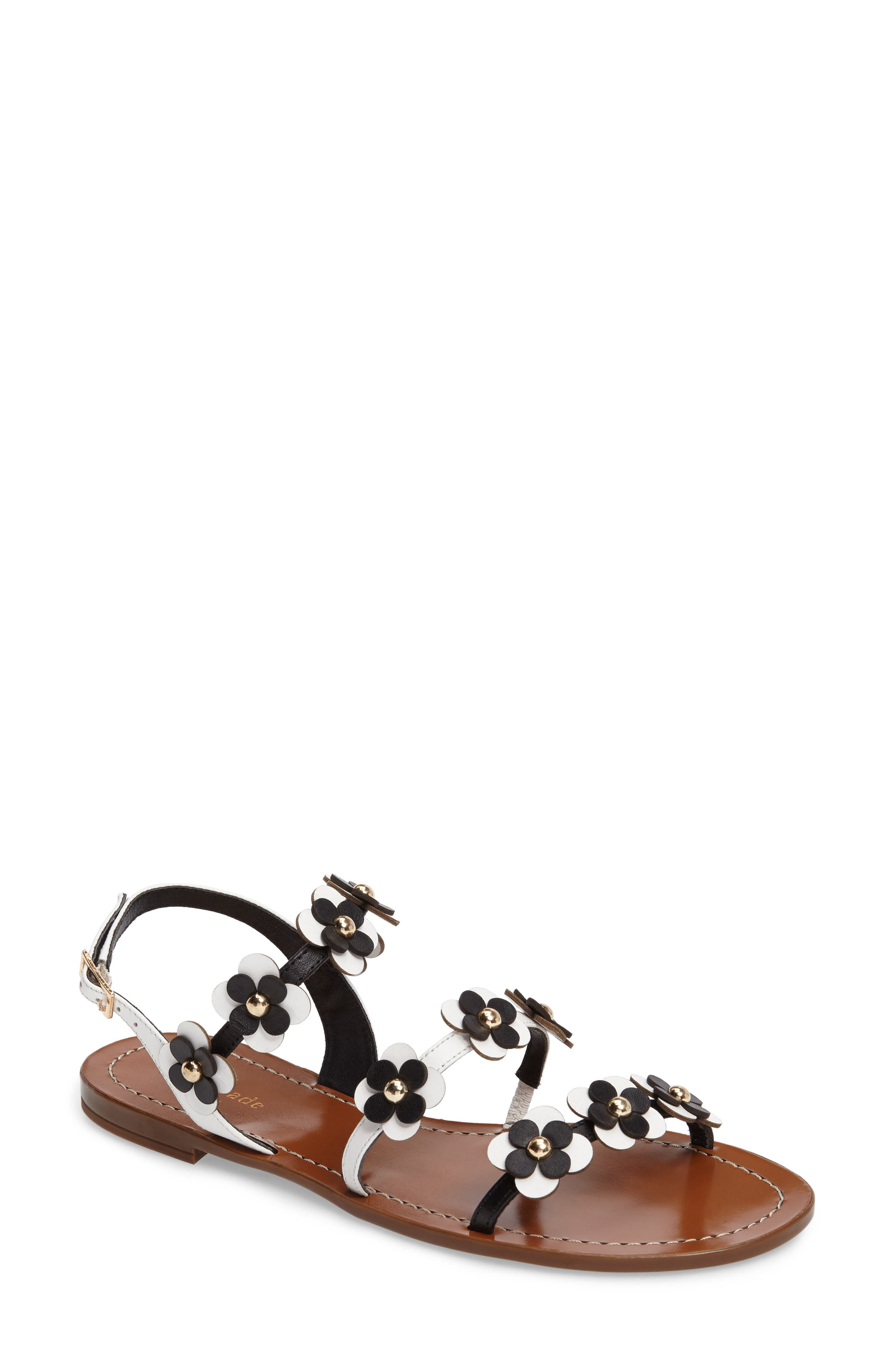 Main Image - kate spade new york colorado flowered sandal (Women)