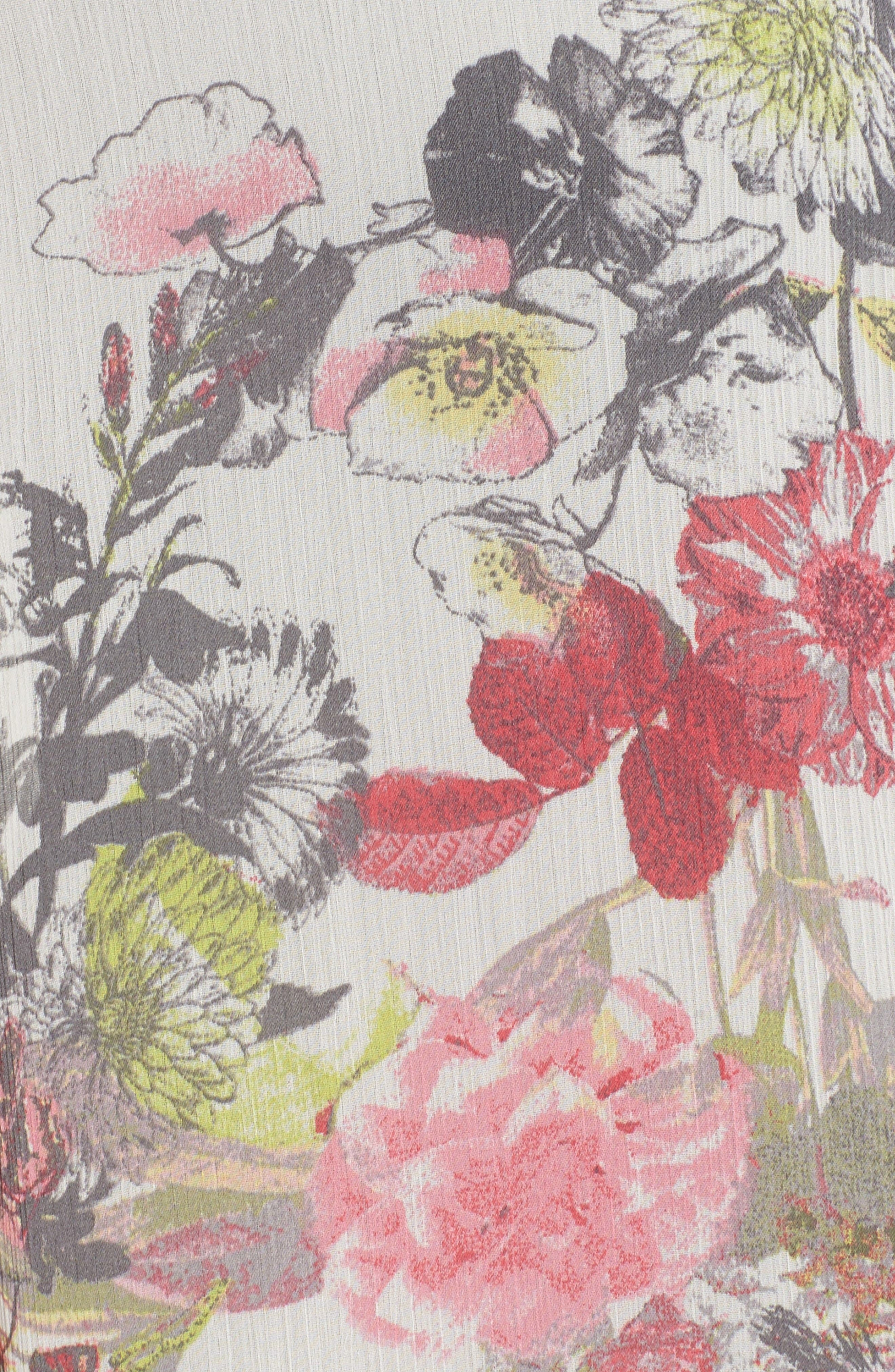 Alternate Image 5  - KUT from the Kloth Floral Print Blouse
