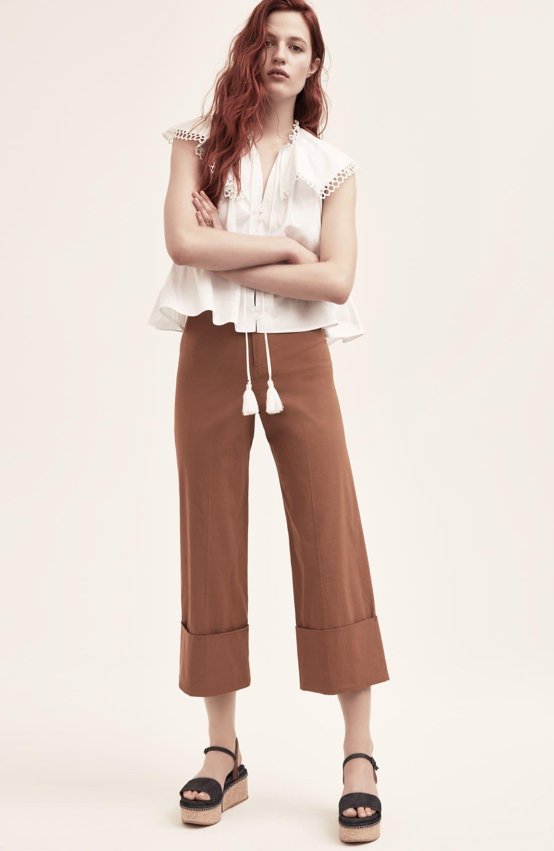 Alternate Image 8  - Sea Cuffed Crop Pants