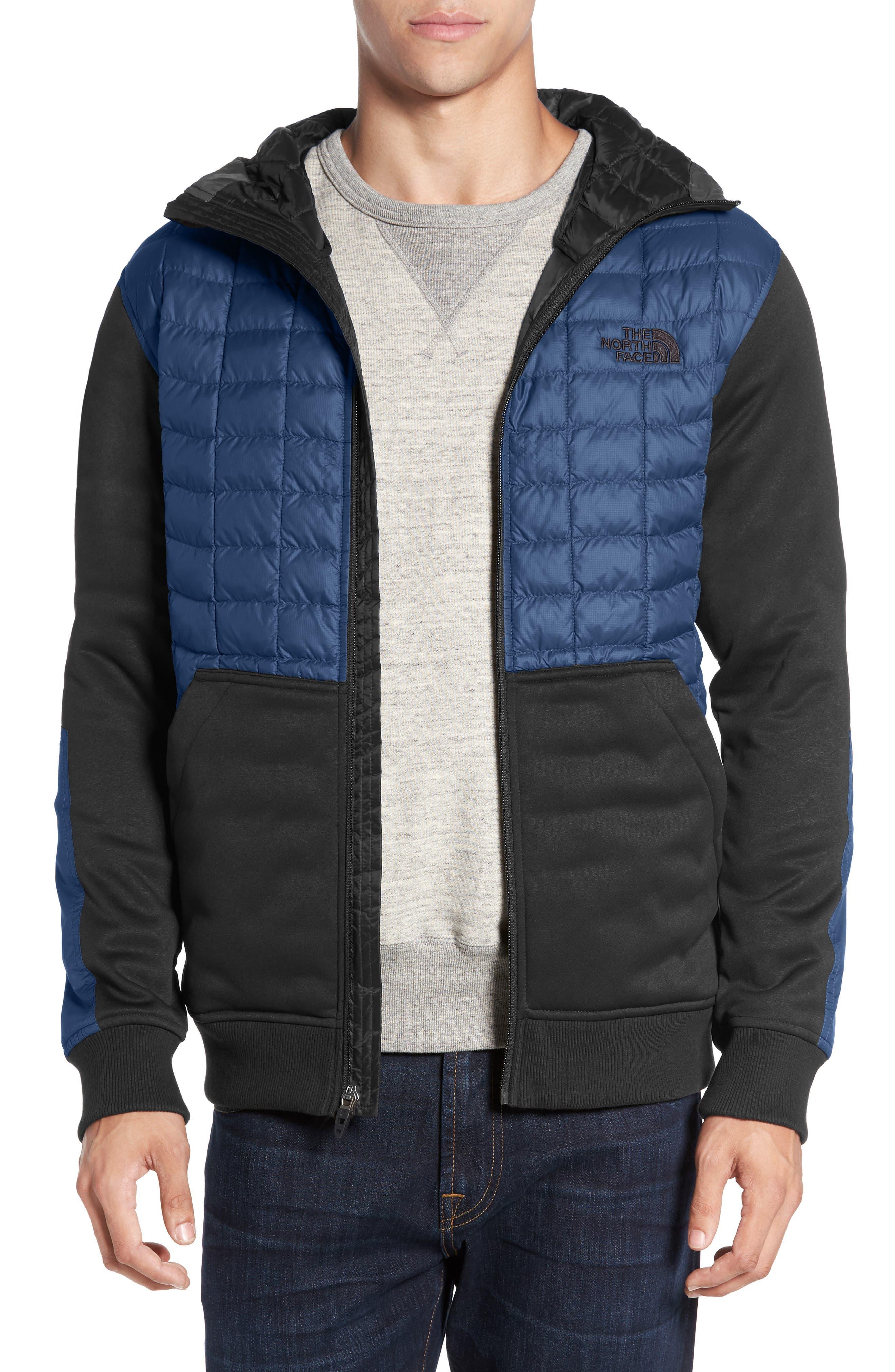 'Kilowatt' ThermoBall PrimaLoft<sup>®</sup> Hooded Jacket,                         Main,                         color, Shady Blue