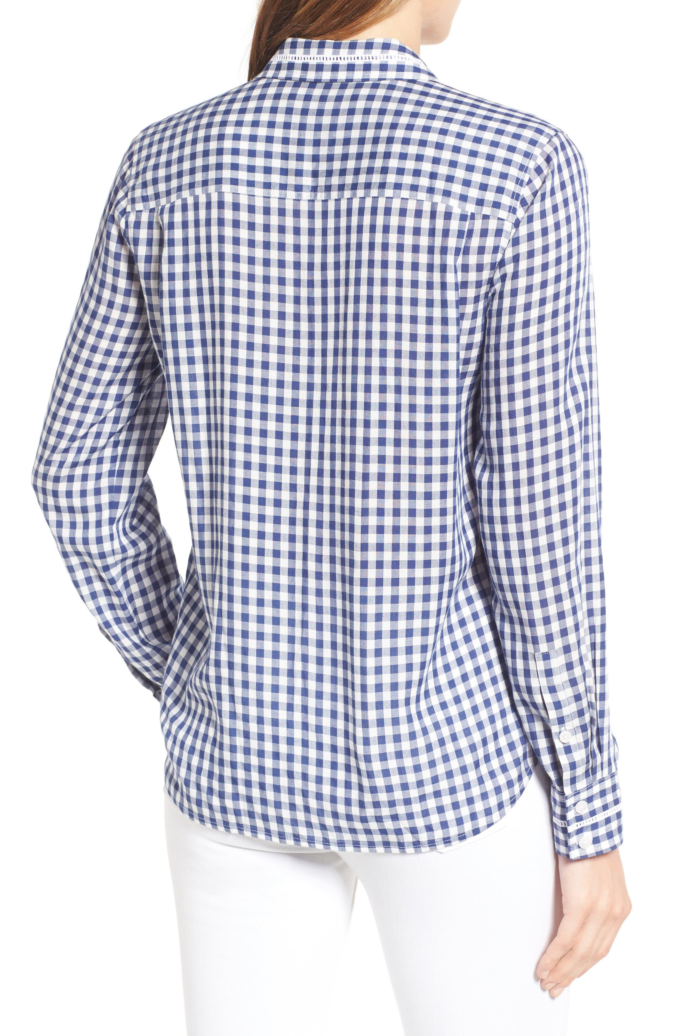 Alternate Image 2  - Draper James Elliot Gingham Shirt