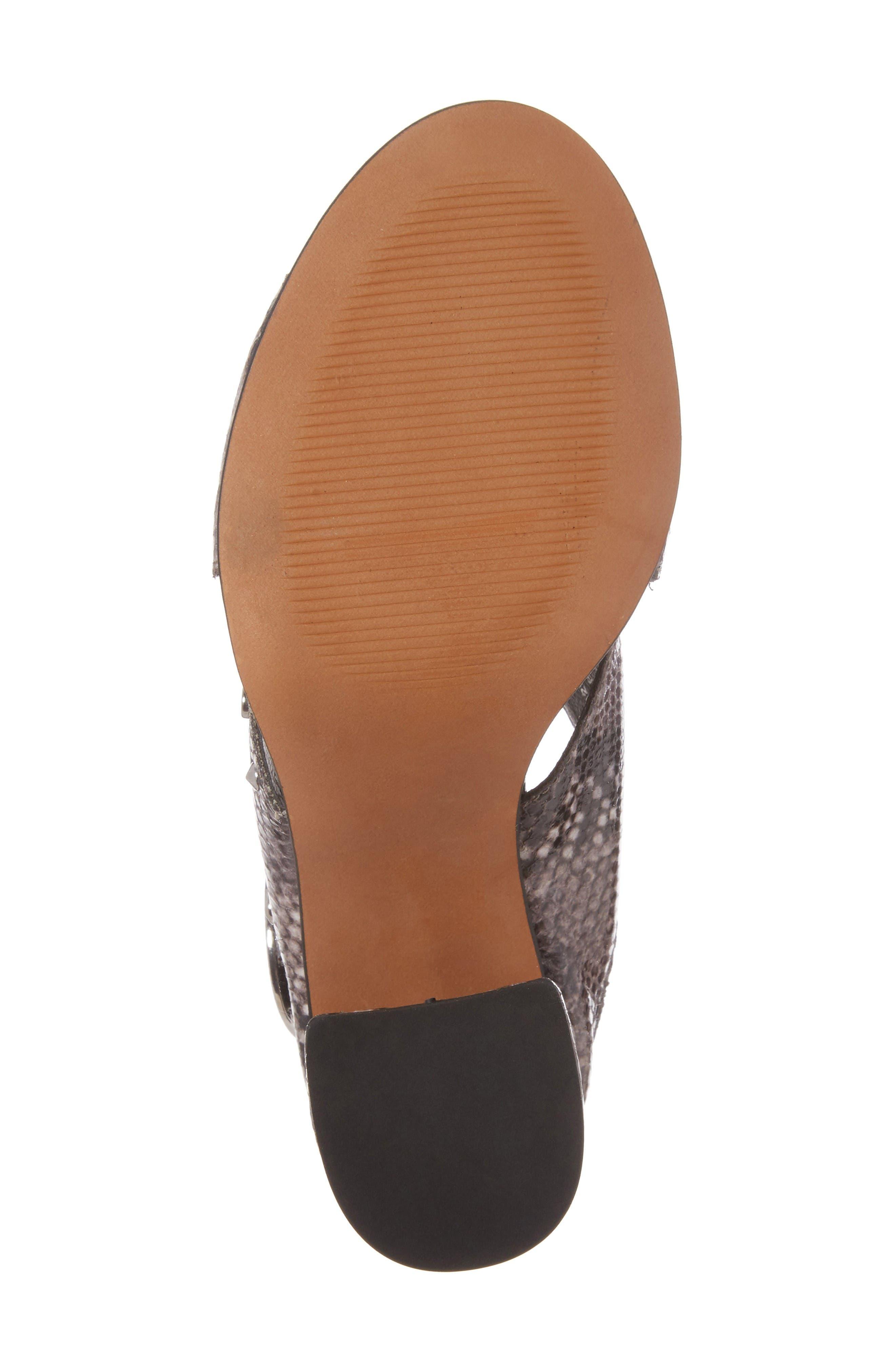 Alternate Image 6  - Topshop Nixie Block Heel Sandal (Women)