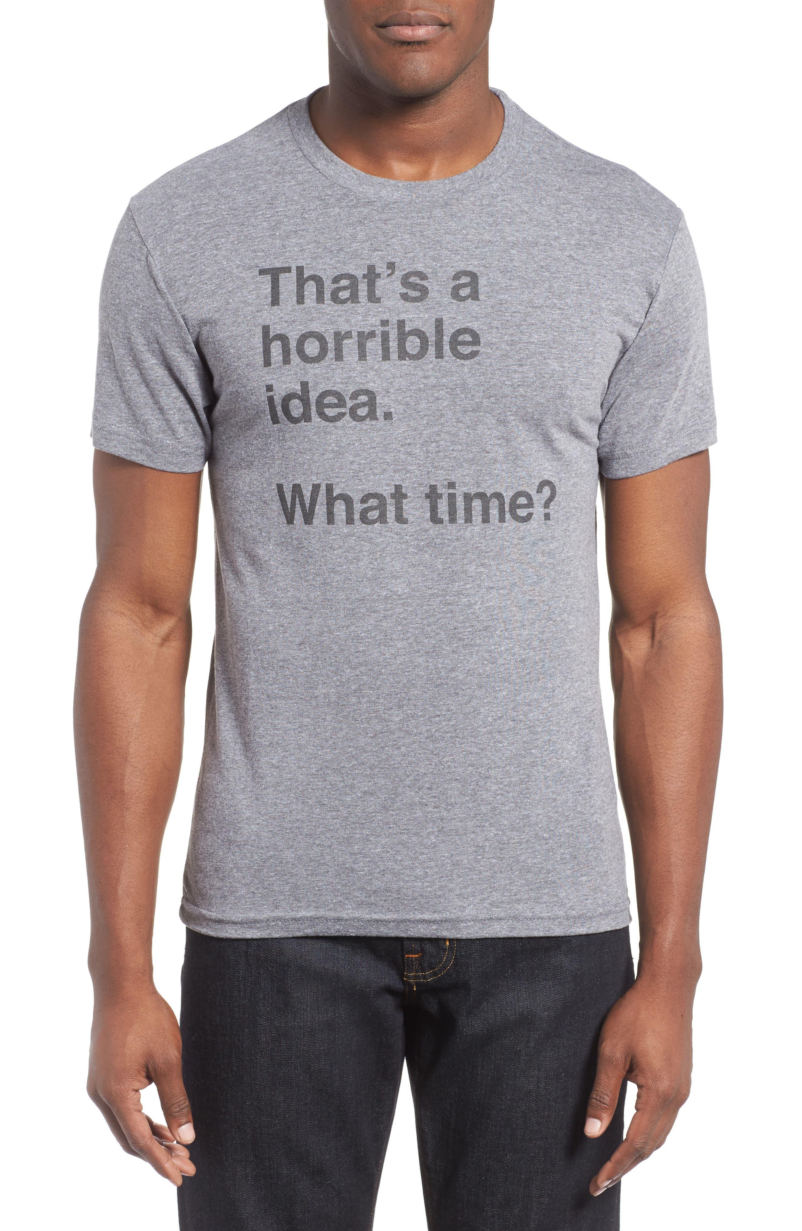 Alternate Image 1 Selected - Kid Dangerous Horrible Idea Graphic T-Shirt