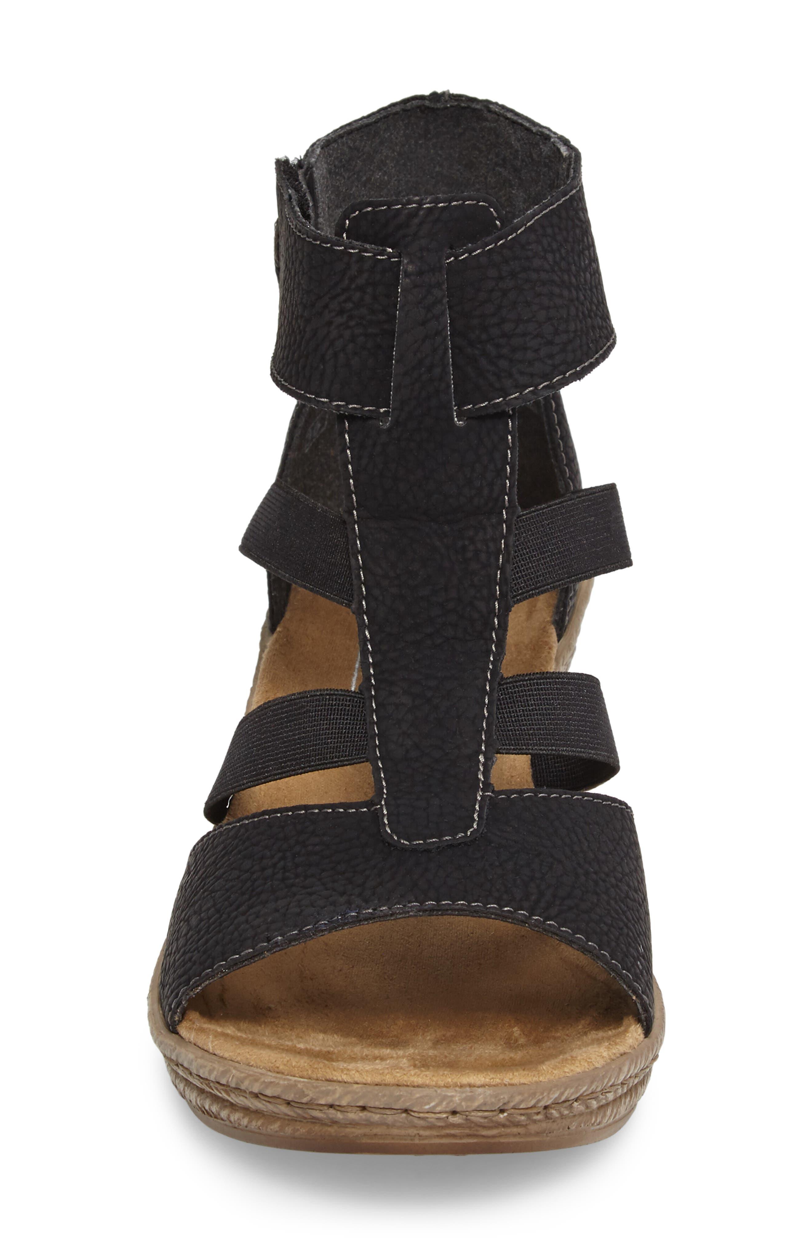 Alternate Image 4  - Rieker Antistress Fanni 39 Wedge Sandal (Women)