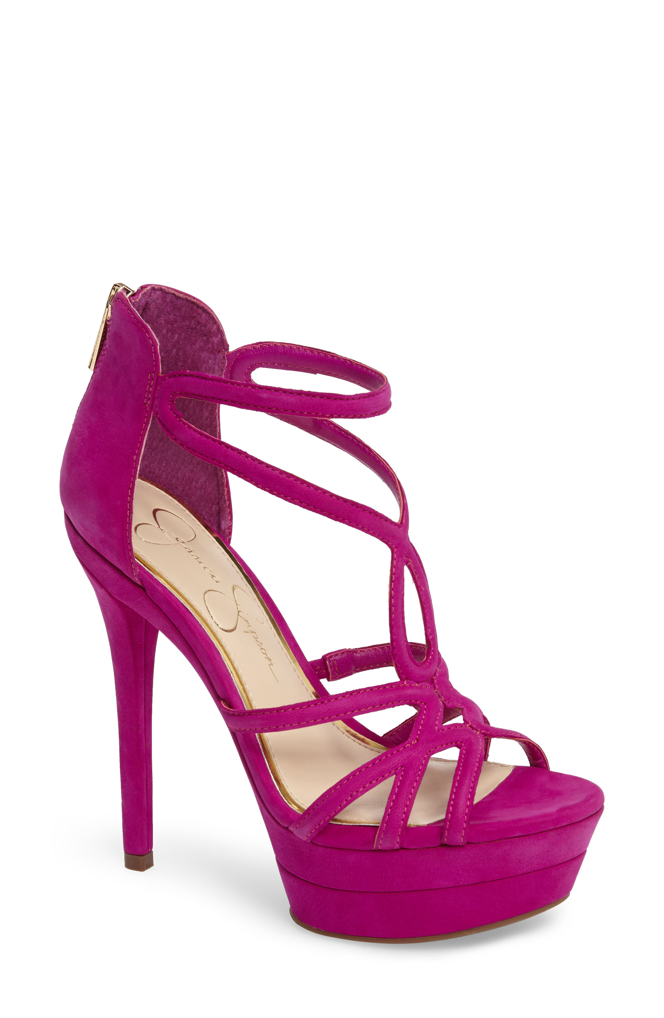 Alternate Image 1 Selected - Jessica Simpson Rozmari Platform Sandal (Women)