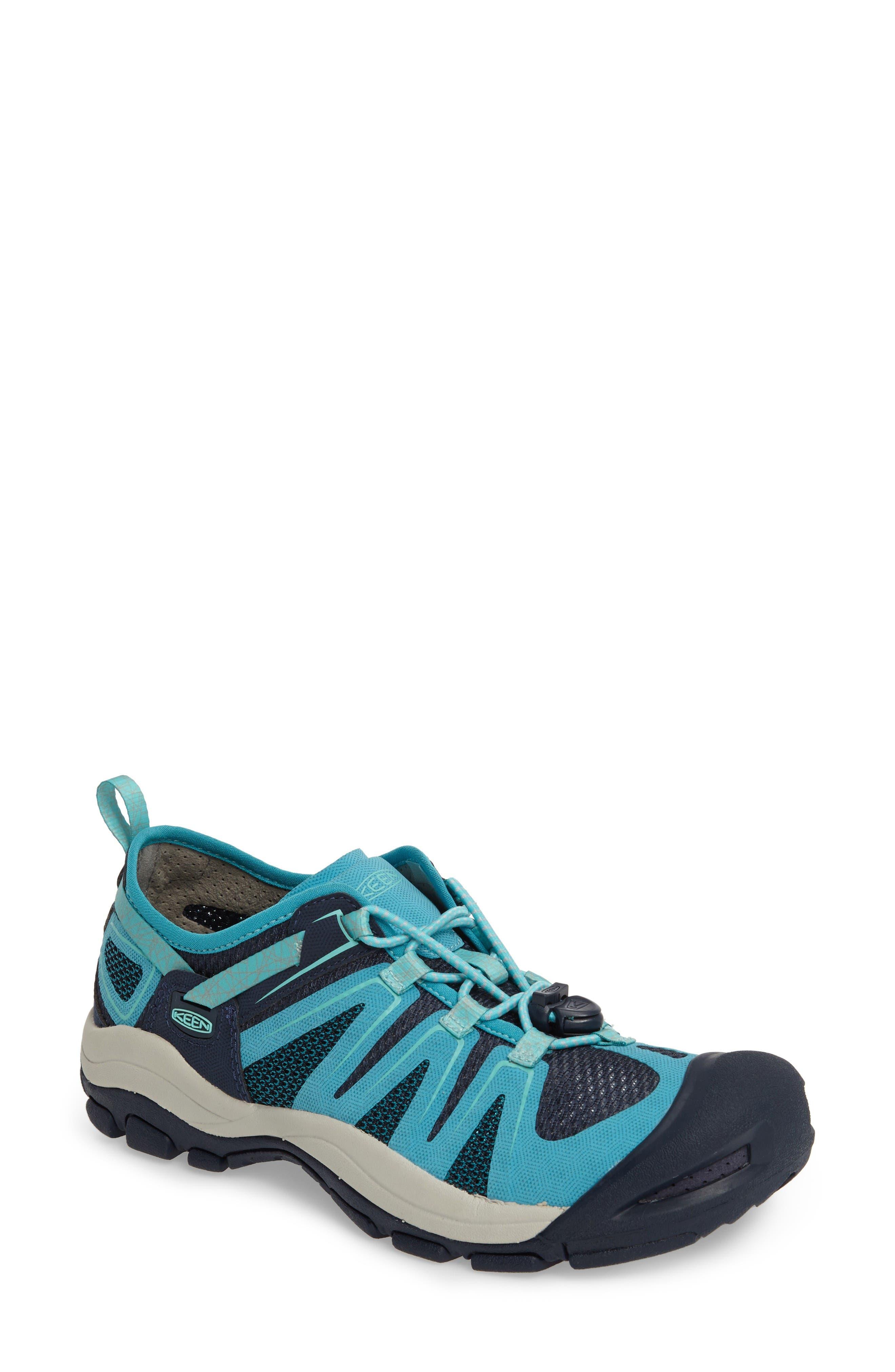 McKenzie II Waterproof Sneaker,                             Main thumbnail 1, color,                             Dress Blues/ Algiers Fabric
