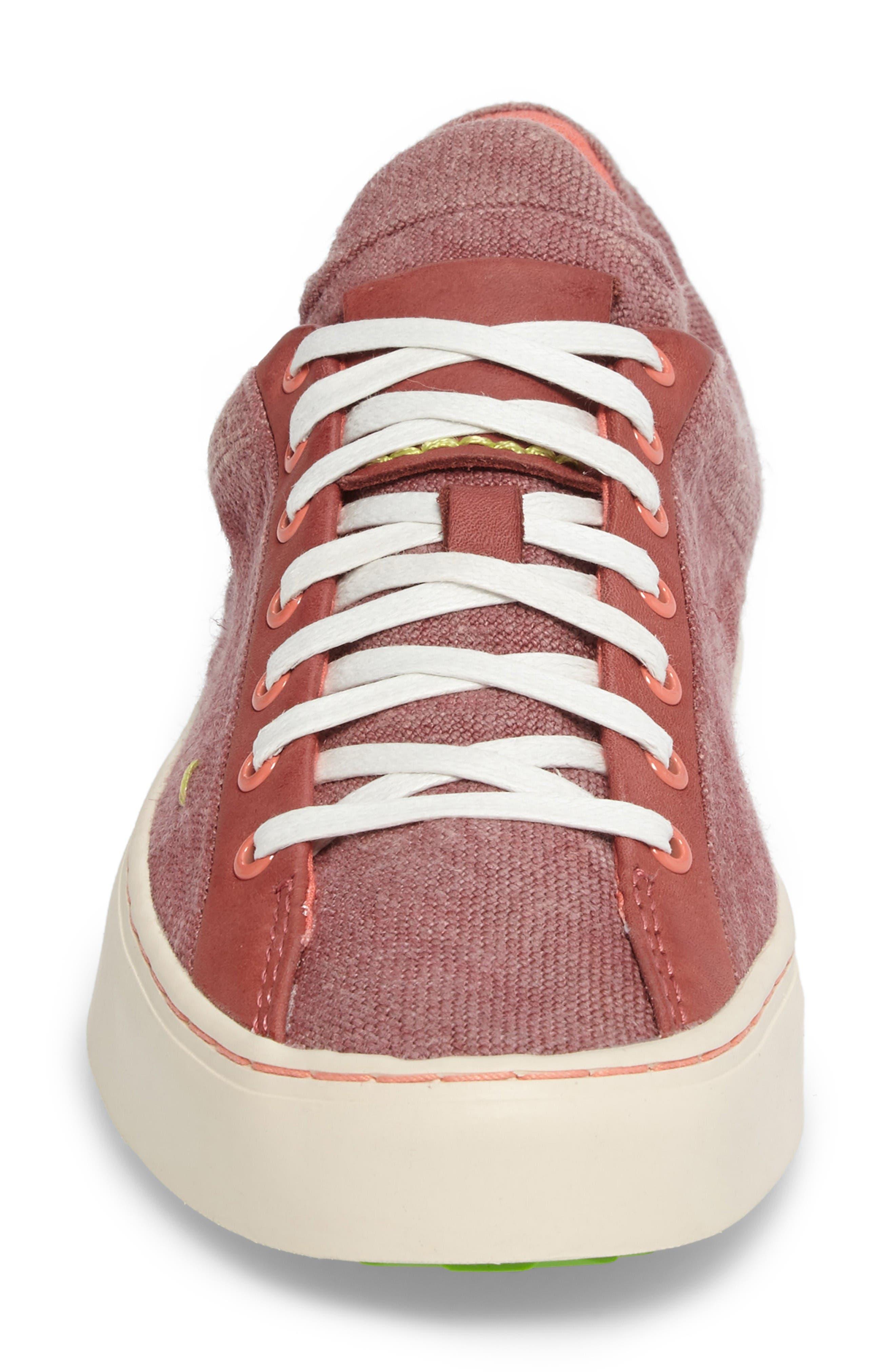 Somerville Sneaker,                             Alternate thumbnail 4, color,                             Sandalwood Fabric