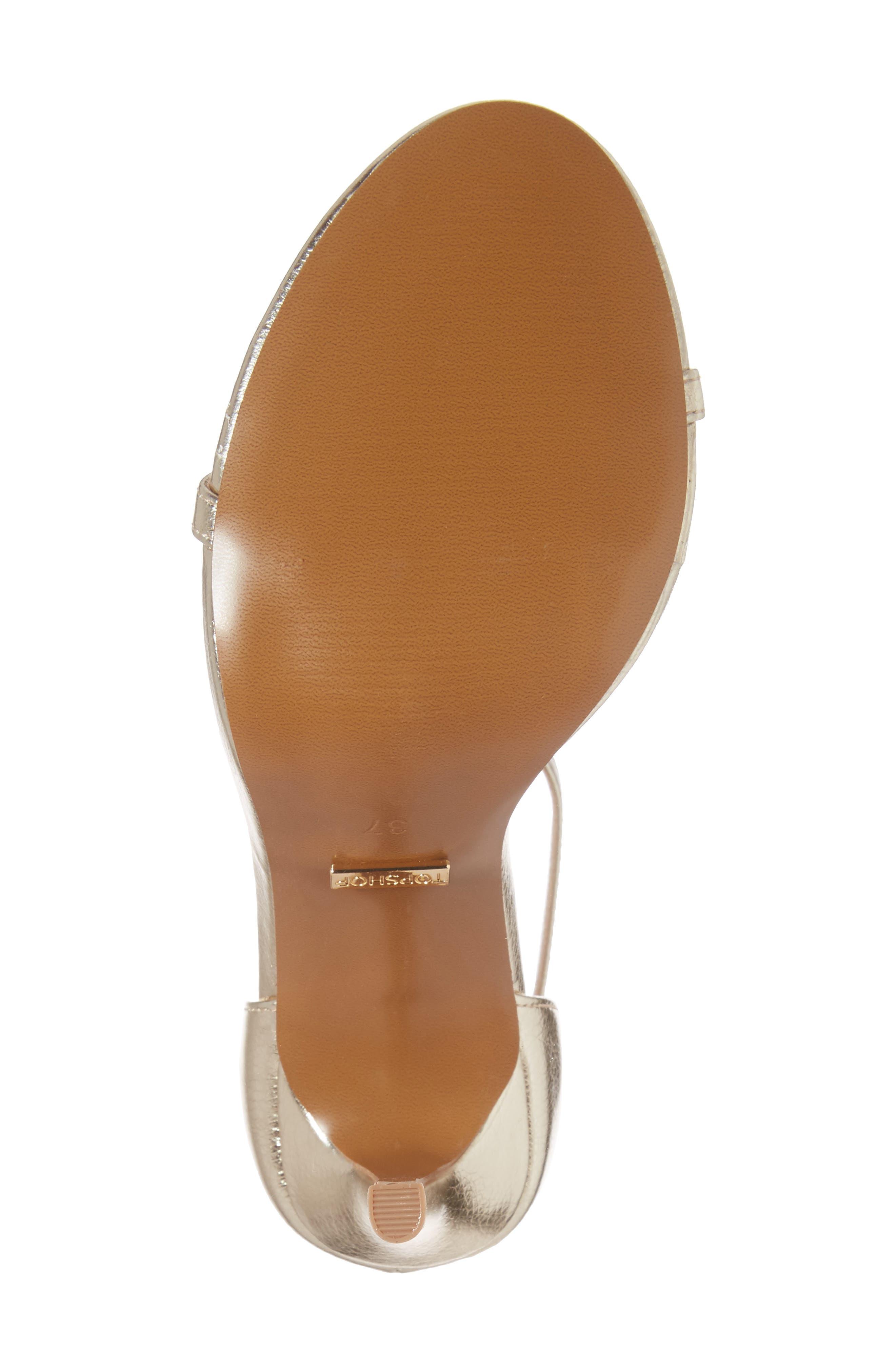 Alternate Image 6  - Topshop Rosalie Ankle Strap Sandal (Women)