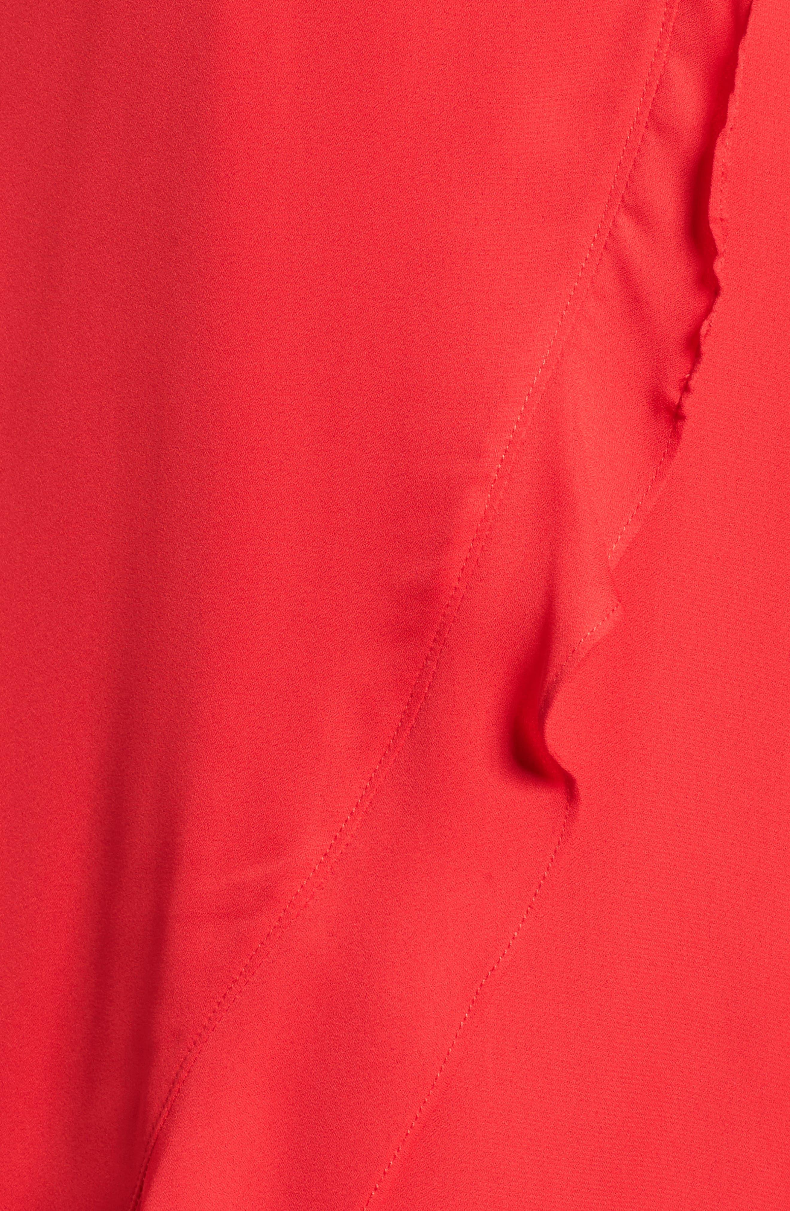 Alternate Image 5  - Dee Elly Ruffle Halter Midi Dress
