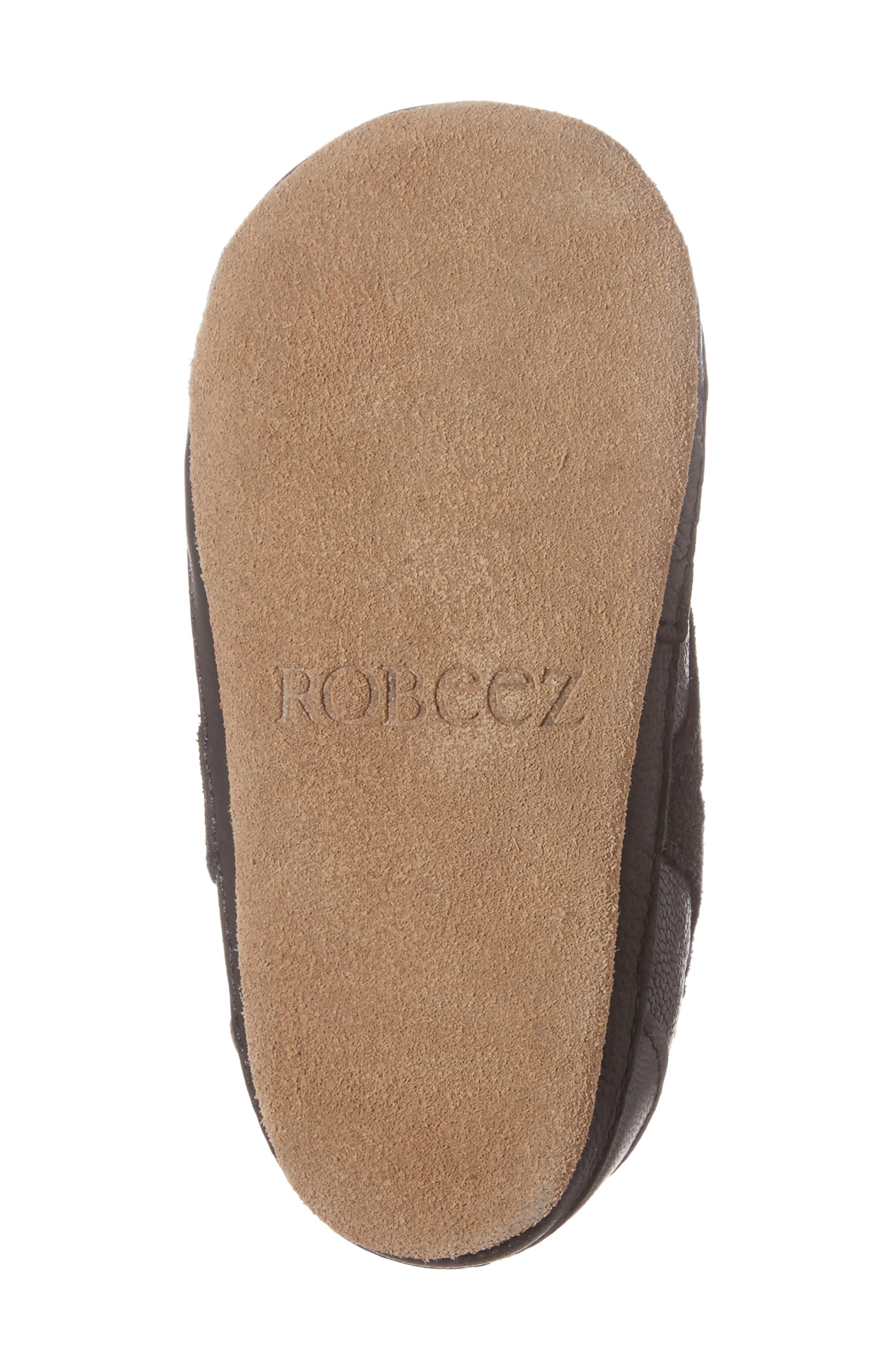 Alternate Image 6  - Robeez® Asher Crib Shoe (Baby & Walker)